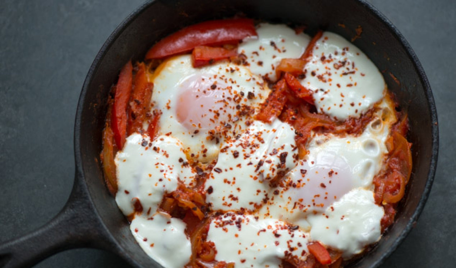 Turkish Style Breakfast Eggs Recipe