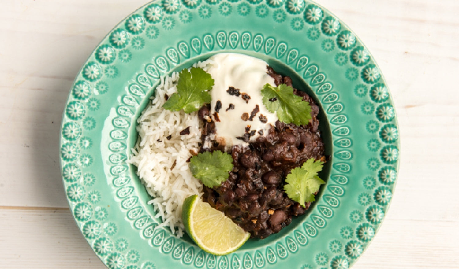 Mexican-Style Black Beans Recipe With Ancho Chilli