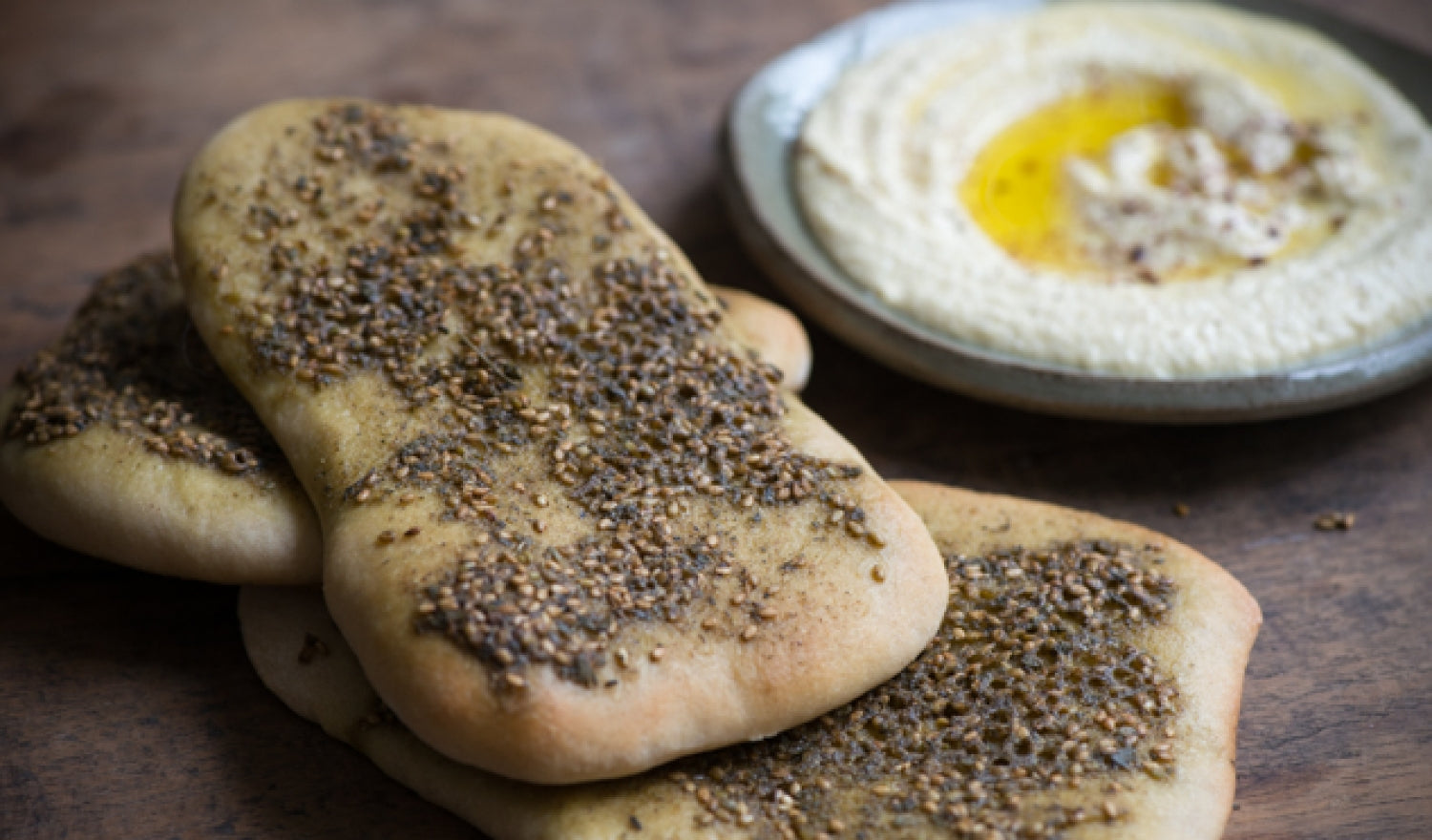 Za'atar Flatbread Recipe