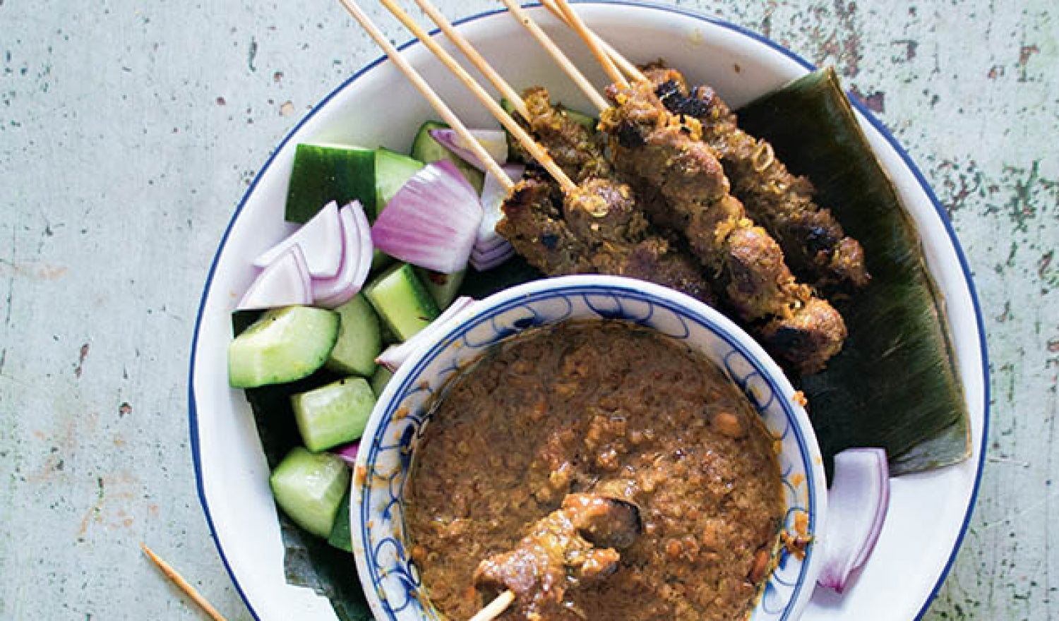 The Chicken And Rice Cookbook: Mutton Satay Recipe