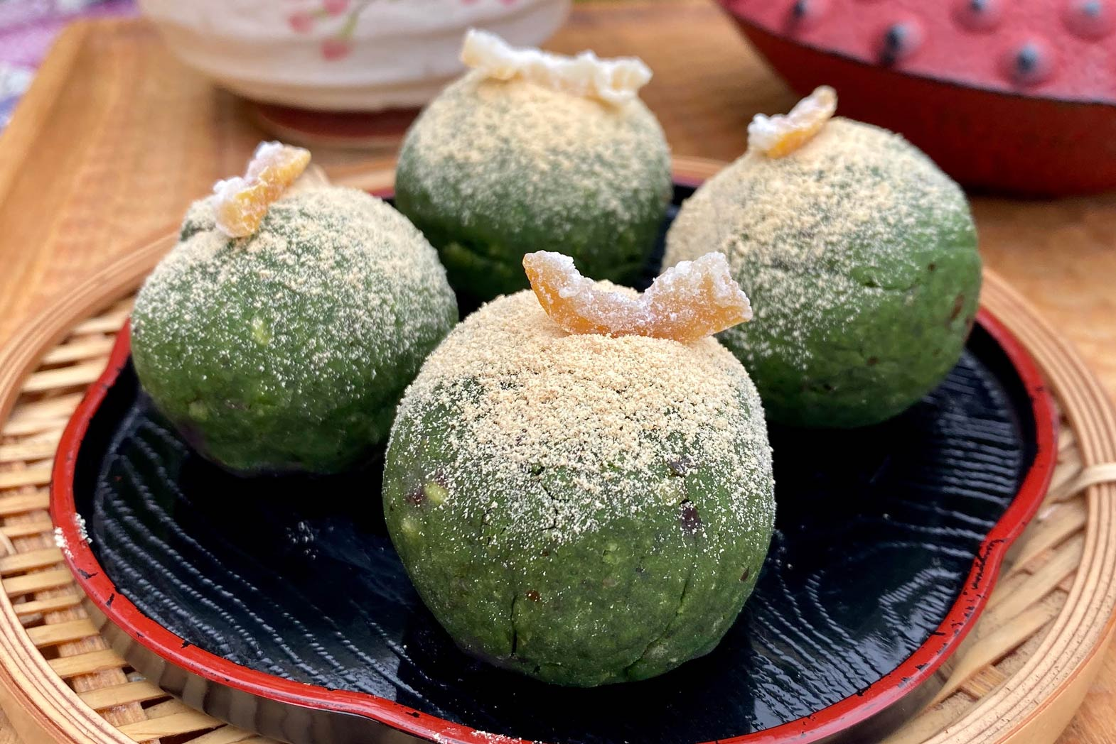 Japanese Matcha Wagashi Recipe, By Tokyopony