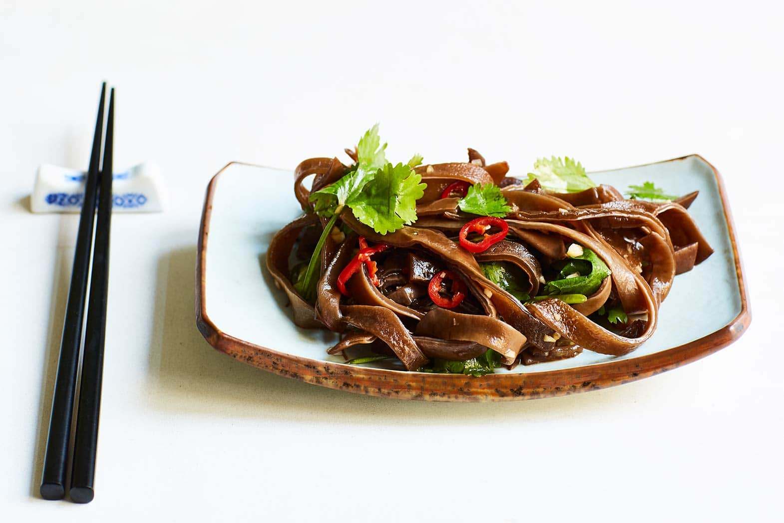 Fresh-Spicy Wood Ear Fungus Salad