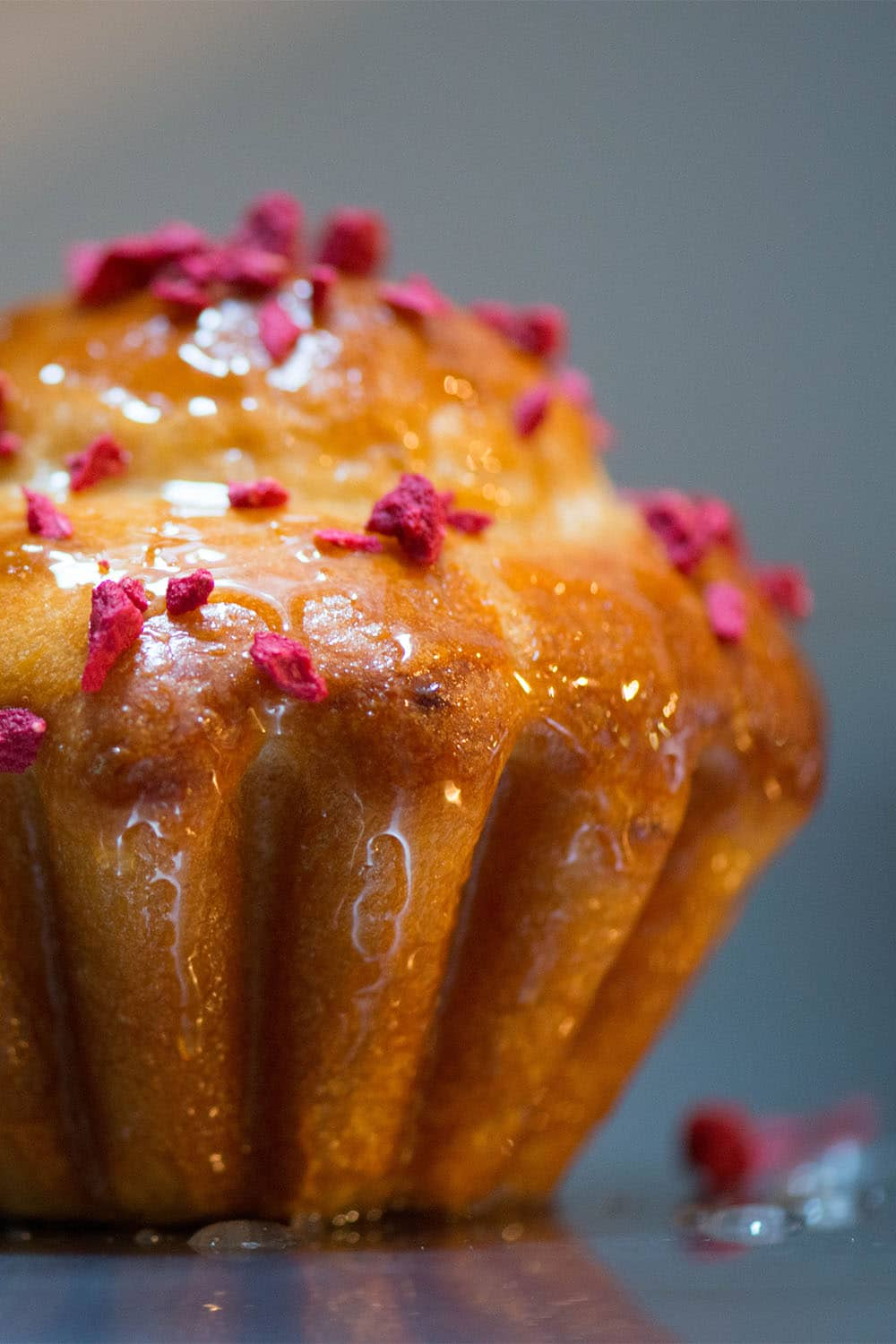 Raspberry And Rose Water Brioche Recipe