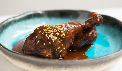 Recipe for Mexican mole poblano