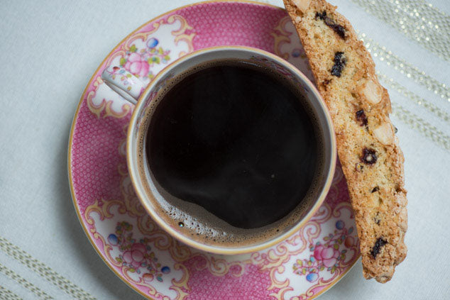 Sour Cherry & Orange Biscotti