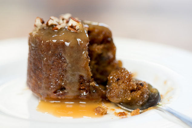 Sticky Toffee Pudding Recipe With Pecan Smoke Caramel