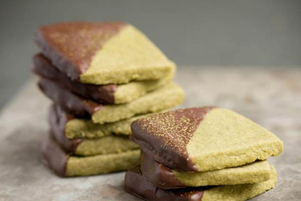 Matcha Green Tea & Chocolate Cookies Recipe