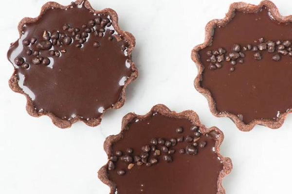 Chocolate And Passion Fruit Popping Candy Tart Recipe