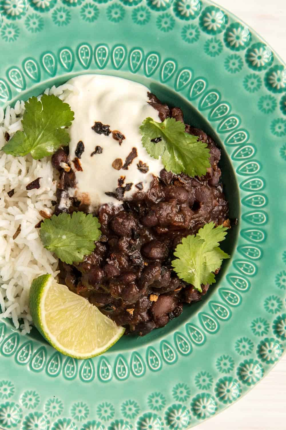 Mexican Style Black Beans Recipe With Ancho Chilli Sous Chef Uk
