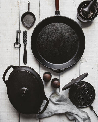 Cast iron cookware from Skeppshult