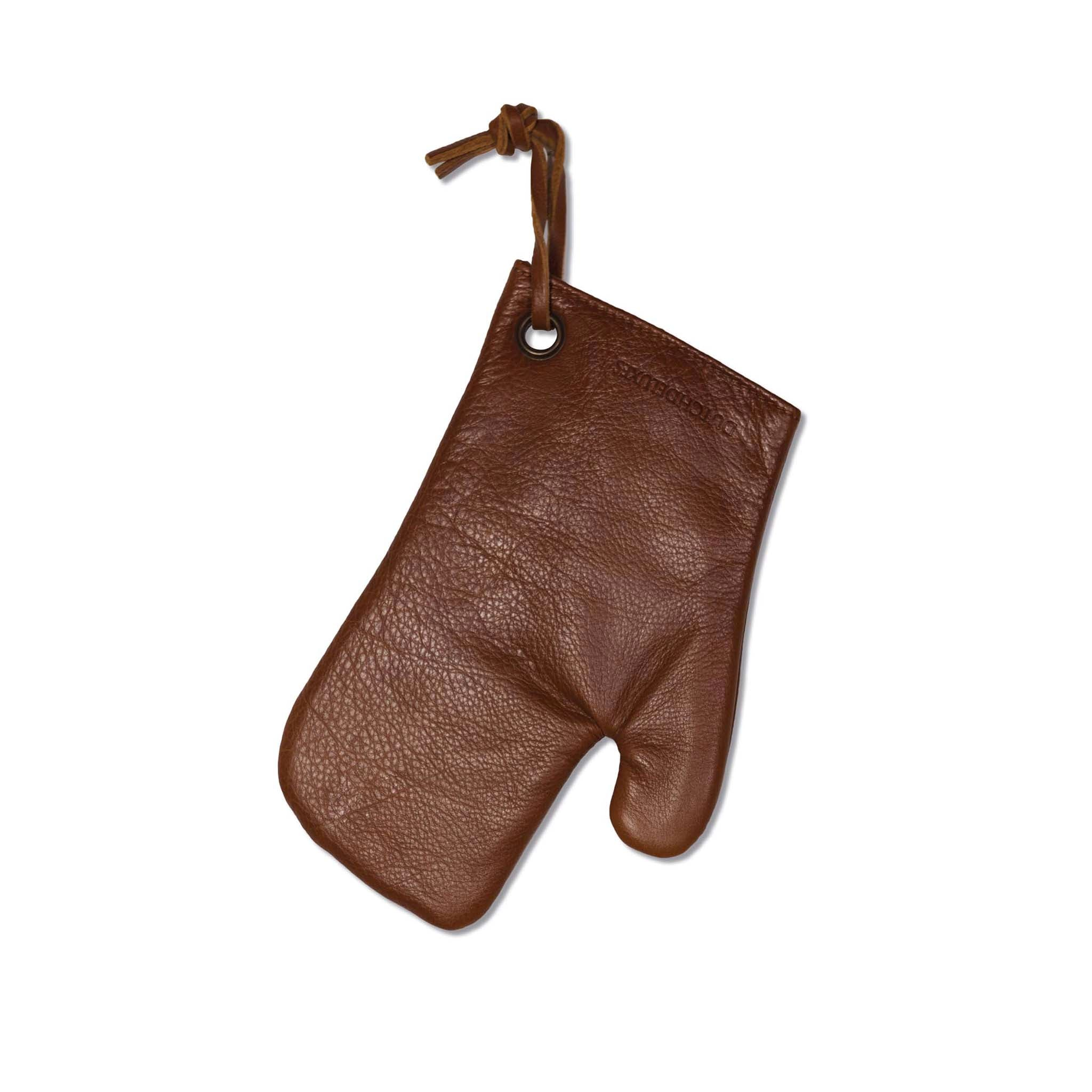 Dutchdeluxes Classic Oven Glove in Classic Brown Cookware Kitchen Clothing