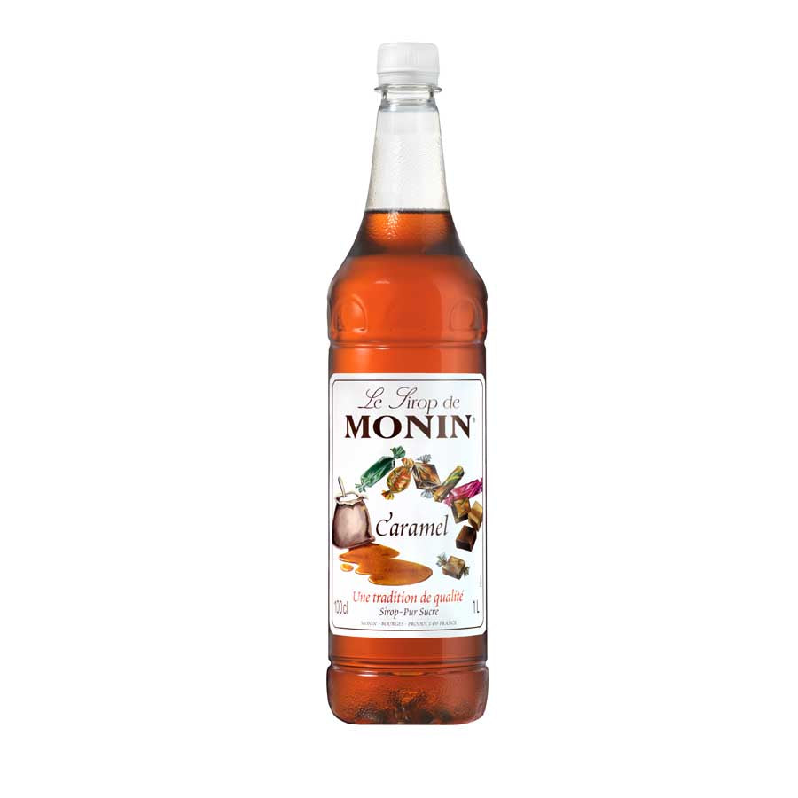 Monin Caramel Syrup 1 litre Ingredients Drinks Syrups & Concentrates