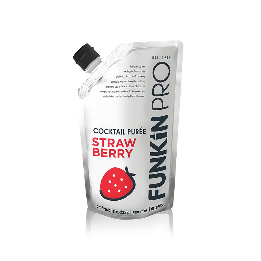 Funkin Strawberry Puree 1kg Ingredients Drinks Syrups & Concentrates