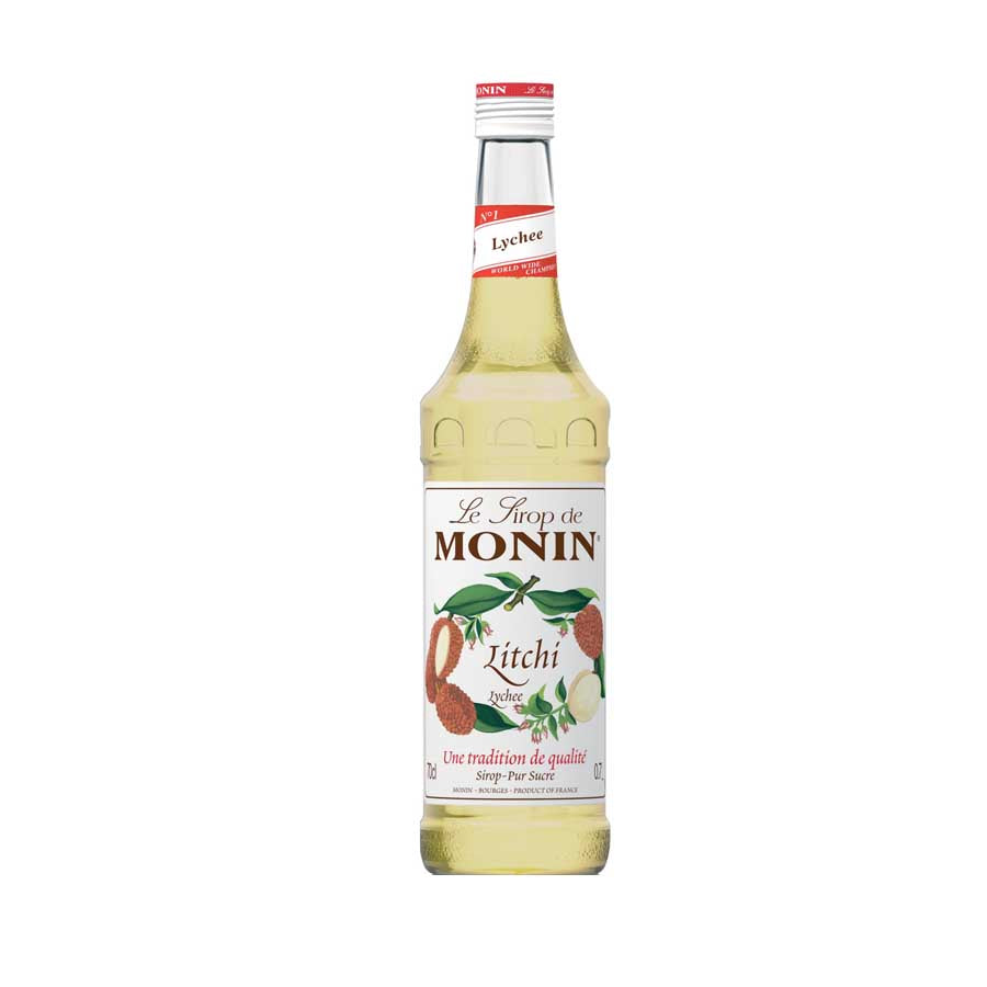 Monin Lychee Syrup 70cl Ingredients Drinks Syrups & Concentrates