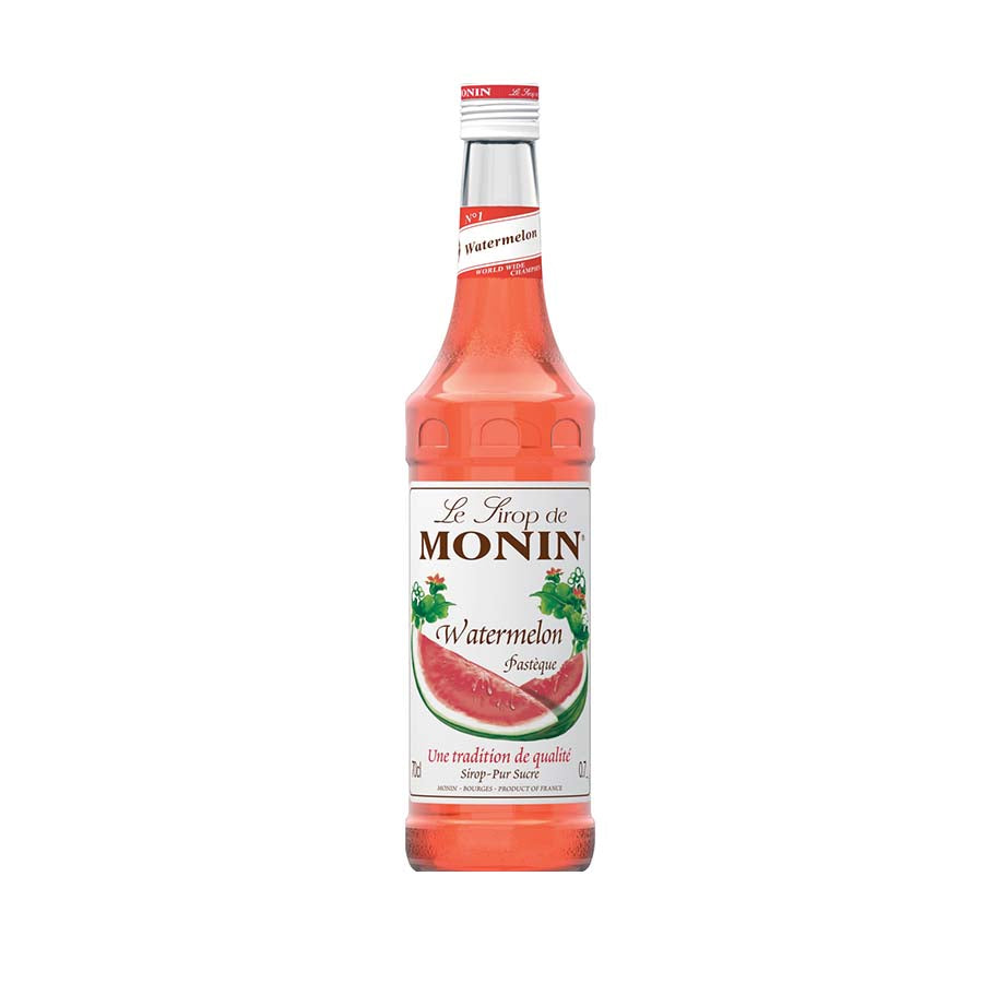 Monin Watermelon Syrup 70cl Ingredients Drinks Syrups & Concentrates French Food