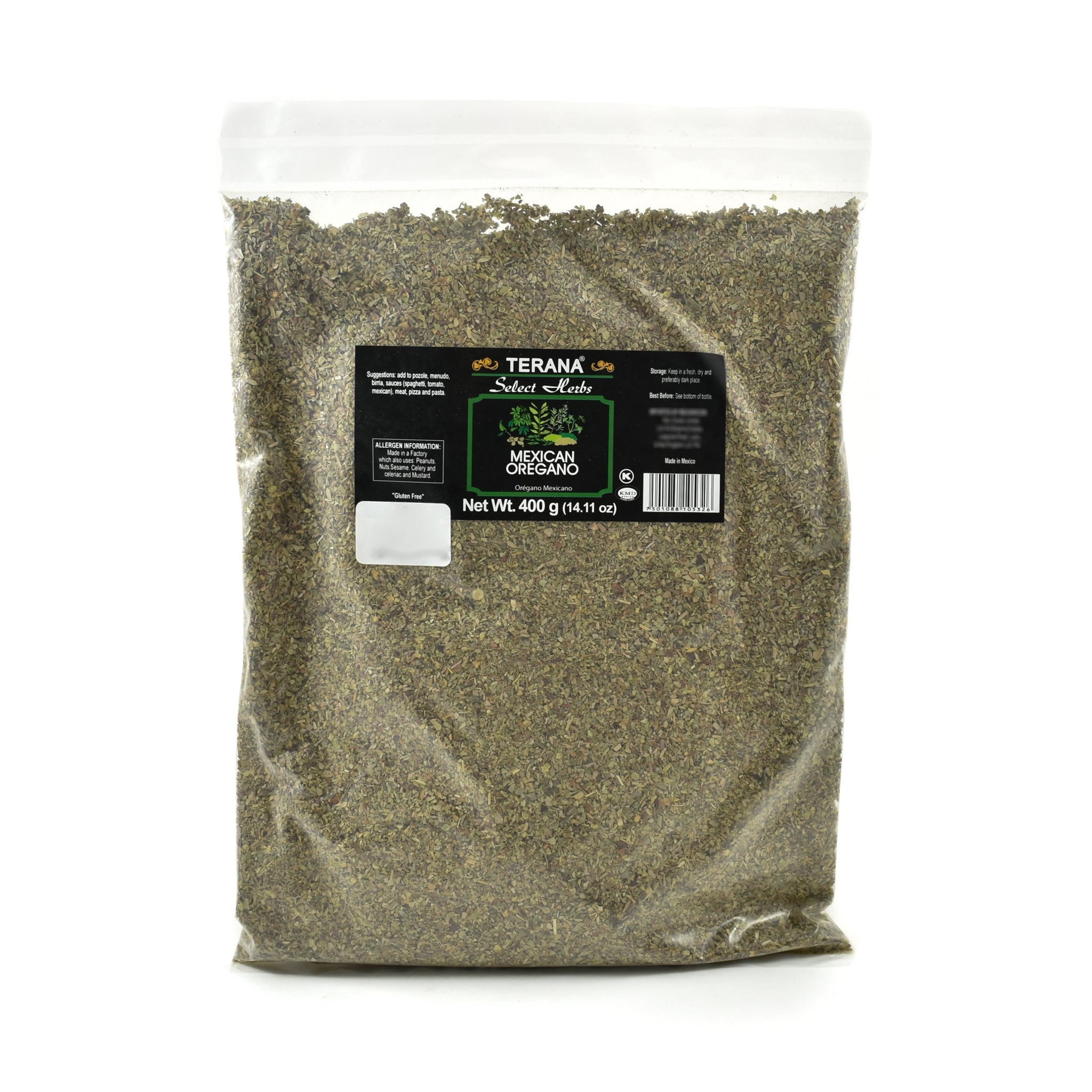 Terana Mexican Oregano 400g Ingredients Seasonings Mexican Food