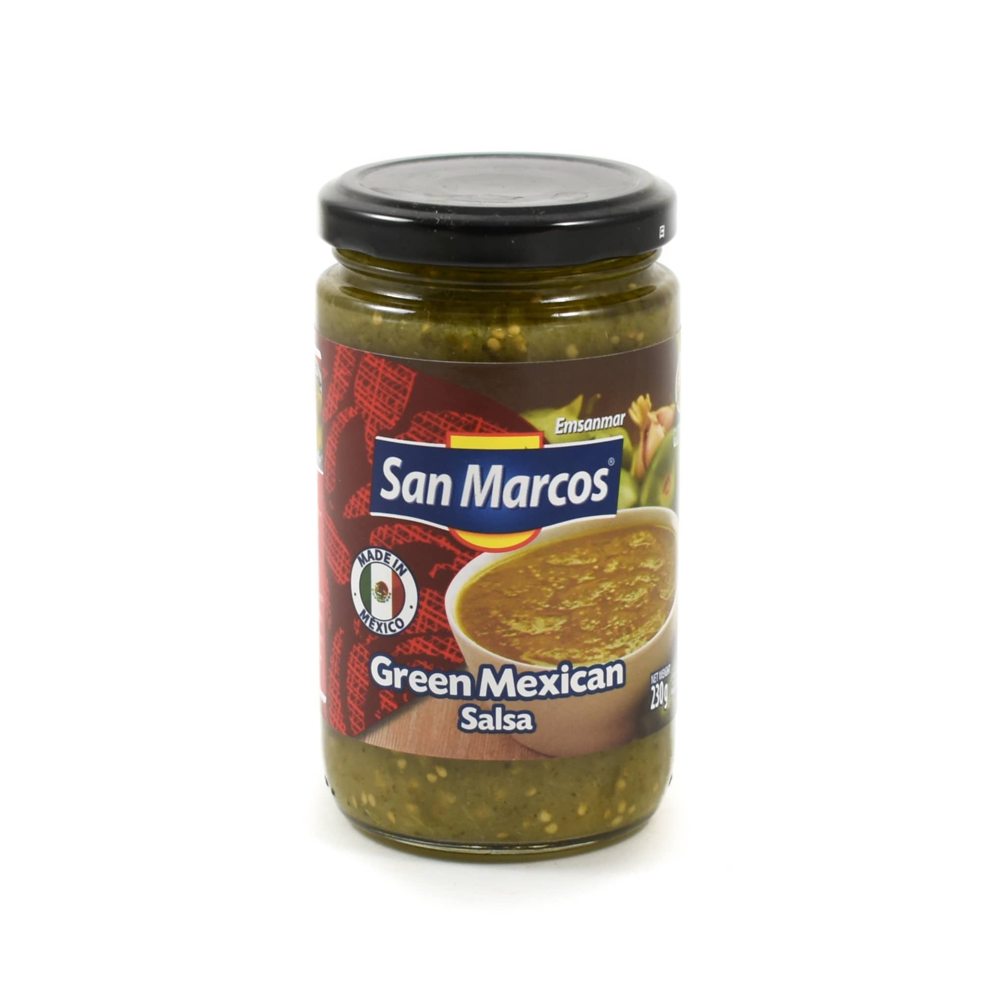 San Marcos Salsa Verde 230g Mexican Food and Cooking