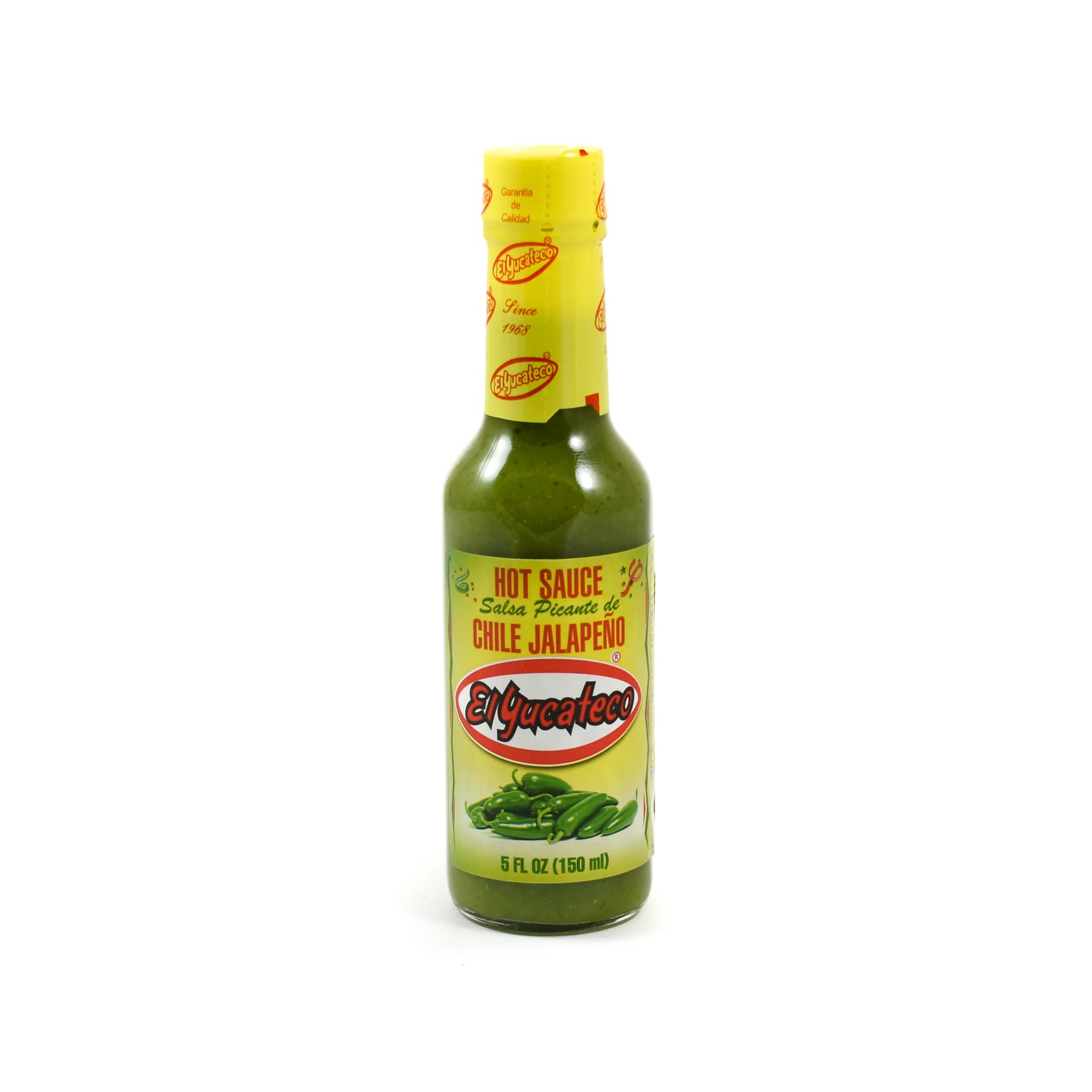 El Yucateco Jalapeño Sauce 150ml Mexican Food and Cooking
