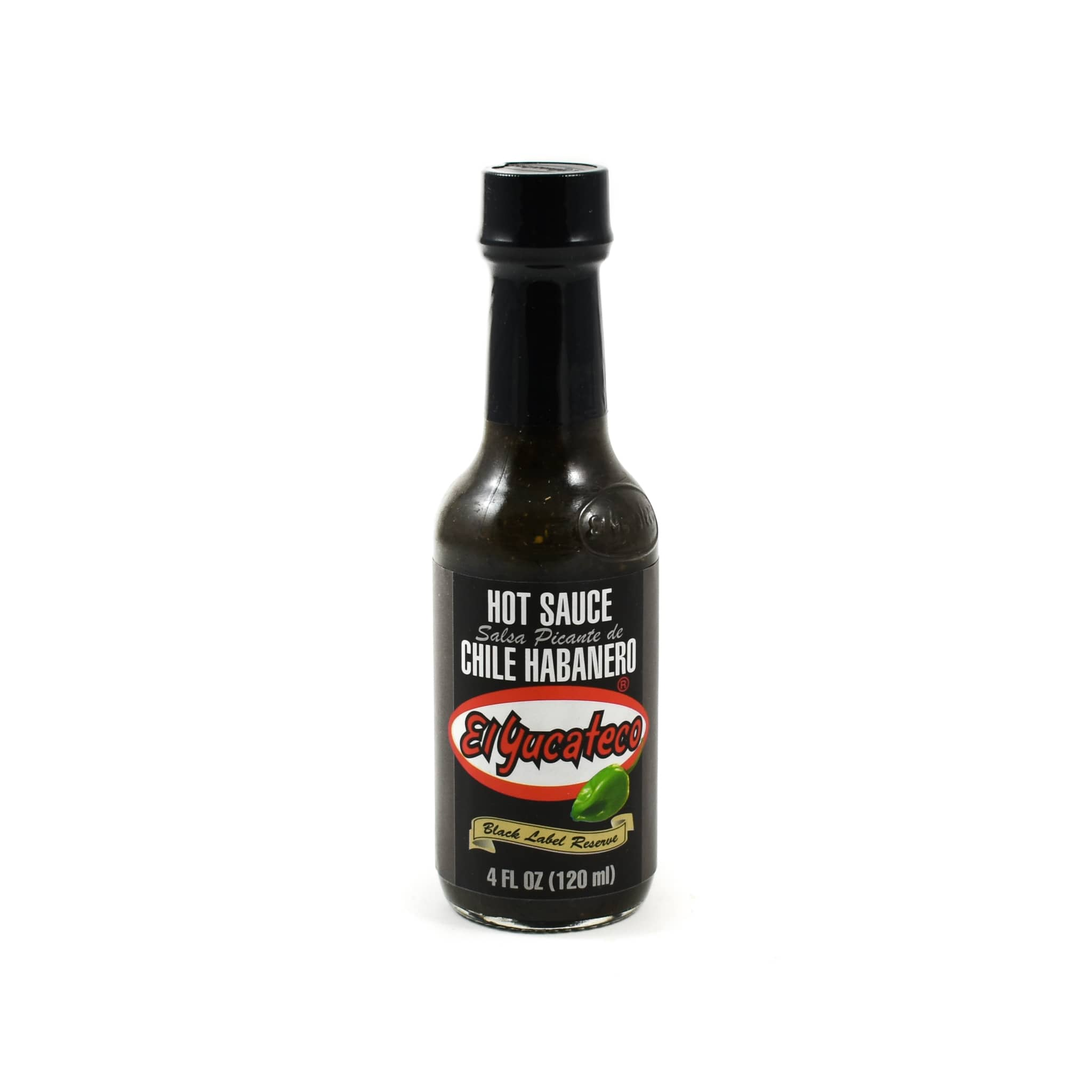 El Yucateco Habanero Black Label Reserve 120ml Mexican Food and Cooking