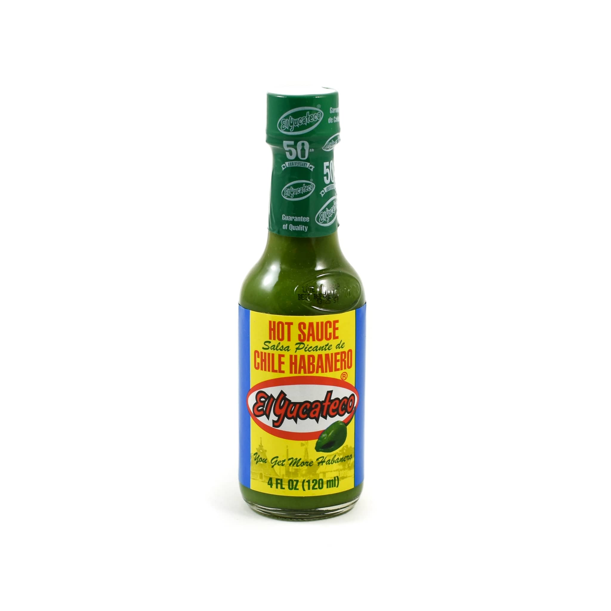 El Yucateco Habanero Green Sauce 120ml Mexican Food and Cooking