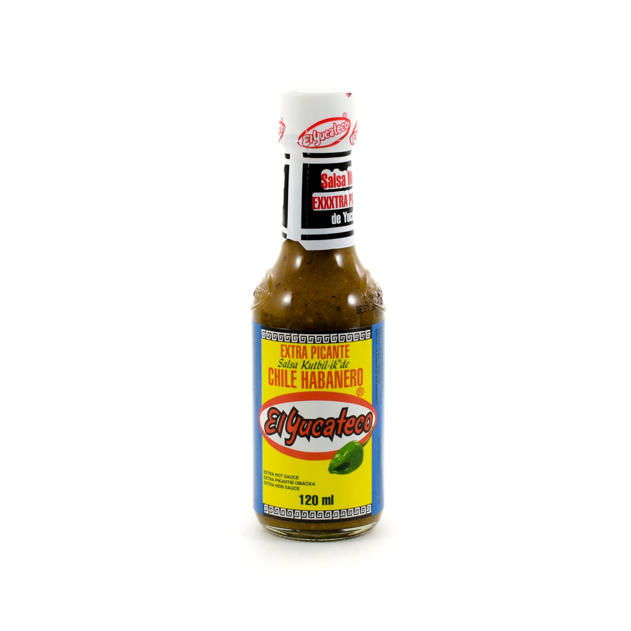 El Yucateco Habanero Kutbil-Ik Frasco Hot Sauce 120ml
