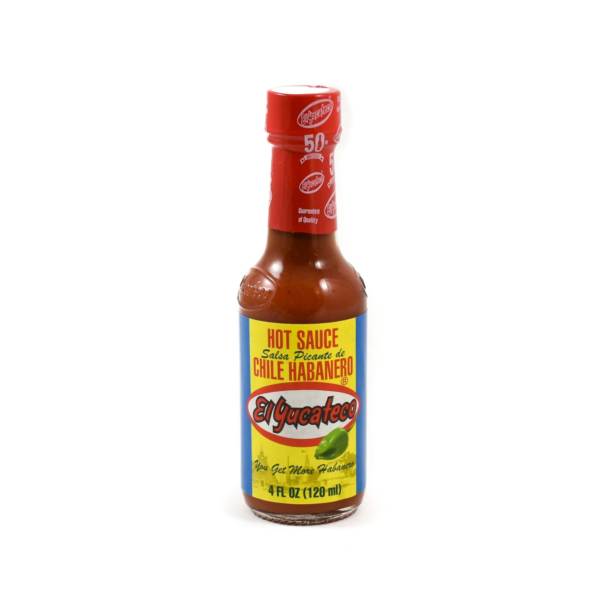 El Yucateco Habanero Red Sauce 120ml Mexican Food and Cooking