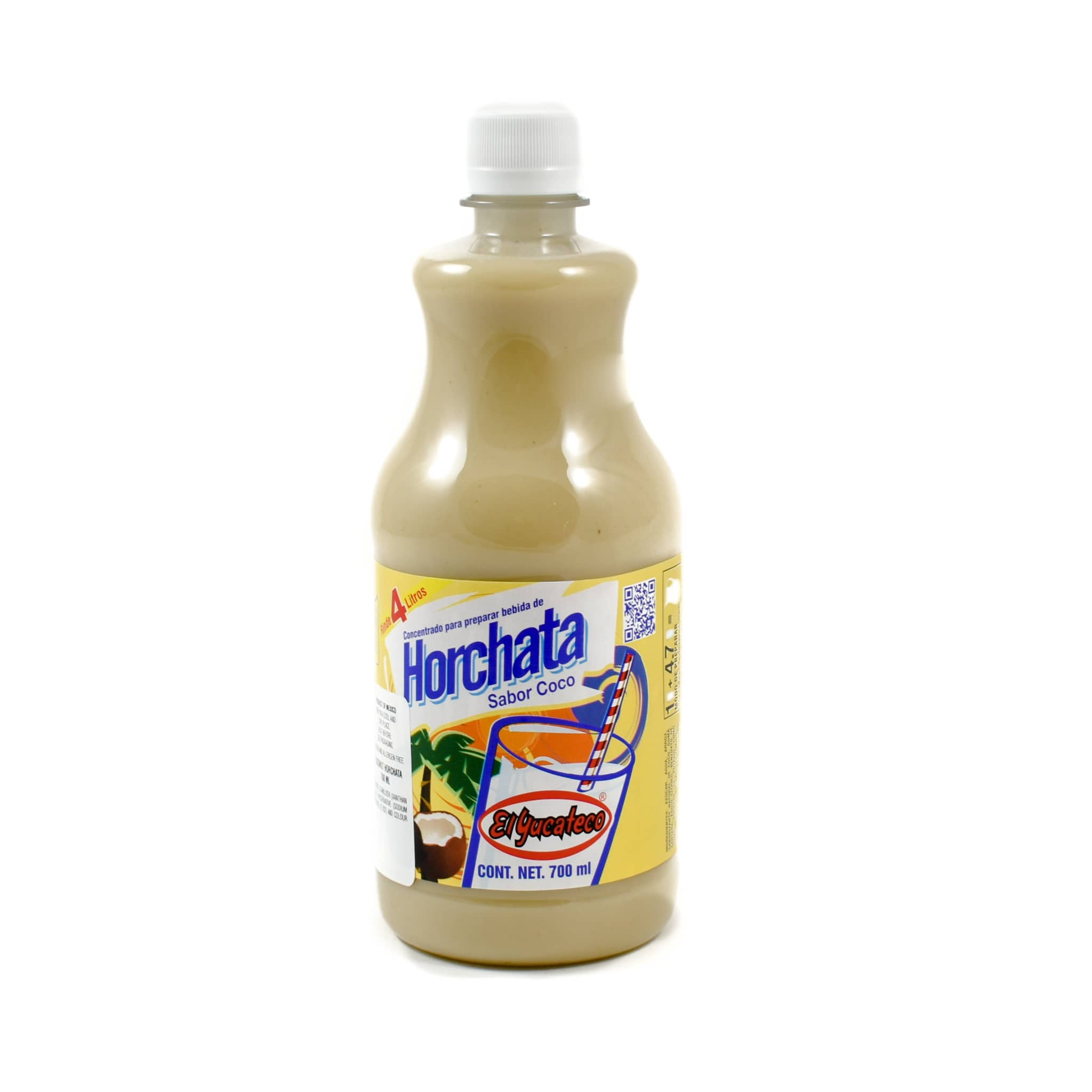El Yucateco Concentrated Horchata, Coconut 700ml Mexican Food and Cooking