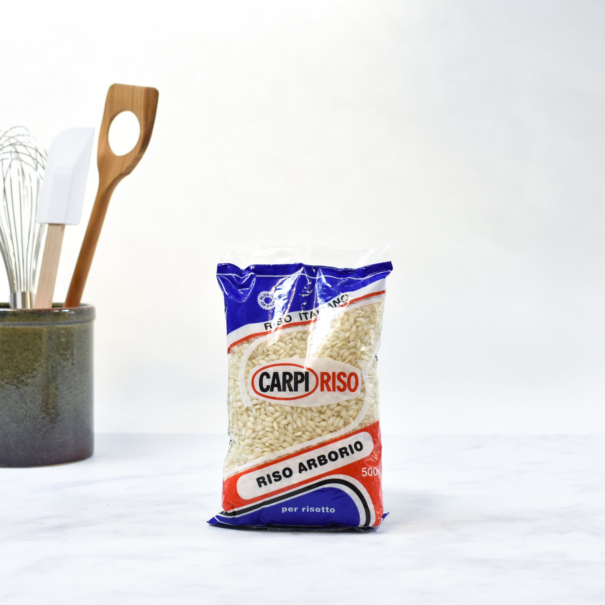 Carpi Riso Arborio Risotto Rice 500g Ingredients Pasta Rice & Noodles Rice Italian Food lifestyle packaging shot