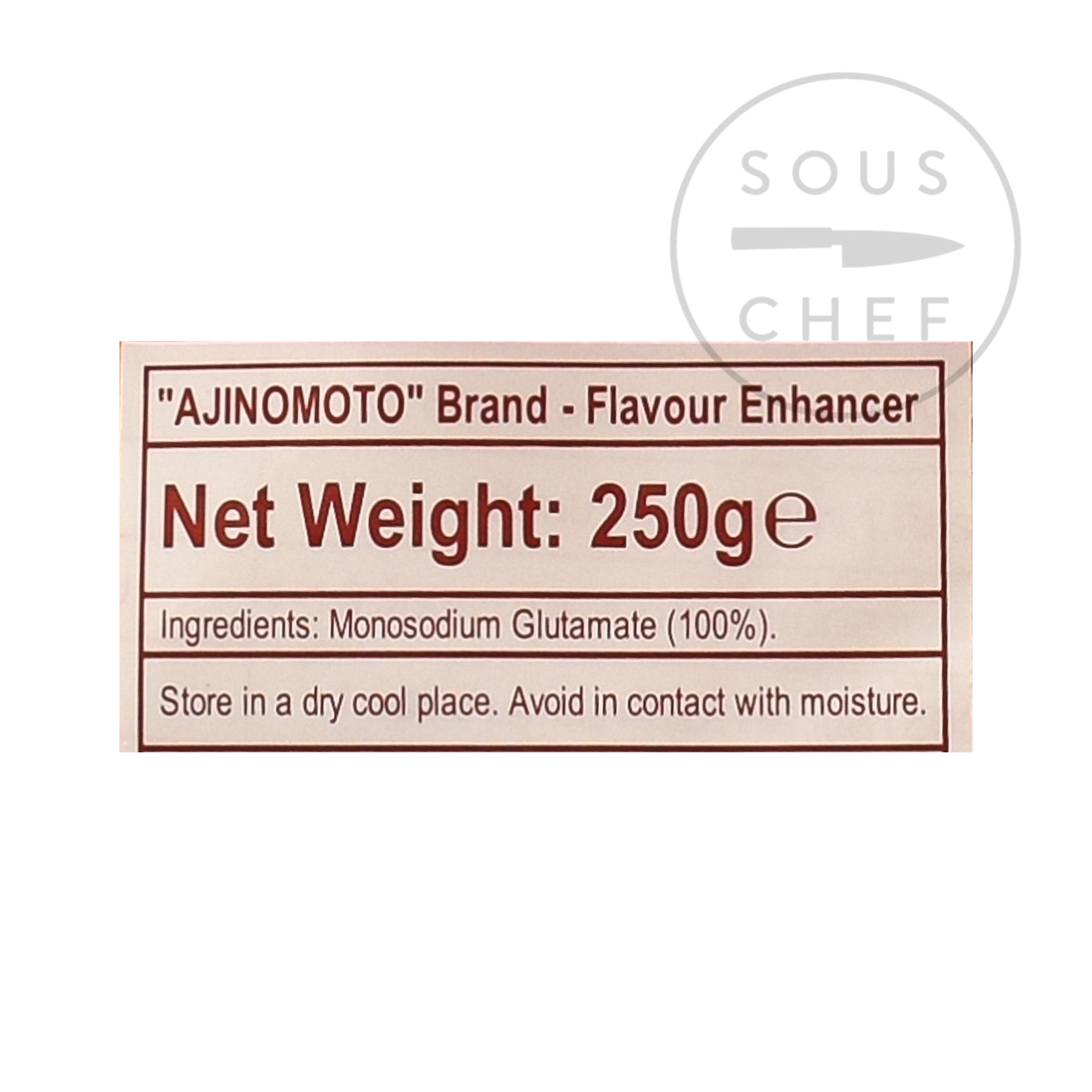 Ajinomoto Umami Powder MSG 250g Ingredients Seasonings Japanese Food Ingredients Information
