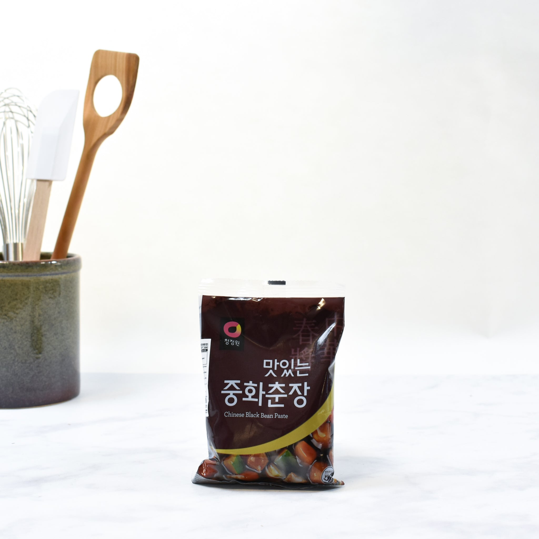 Chung Jung One Chunjang Korean Black Bean Paste 250g Ingredients Sauces & Condiments Asian Sauces & Condiments Korean Food Lifestyle Packaging Shot