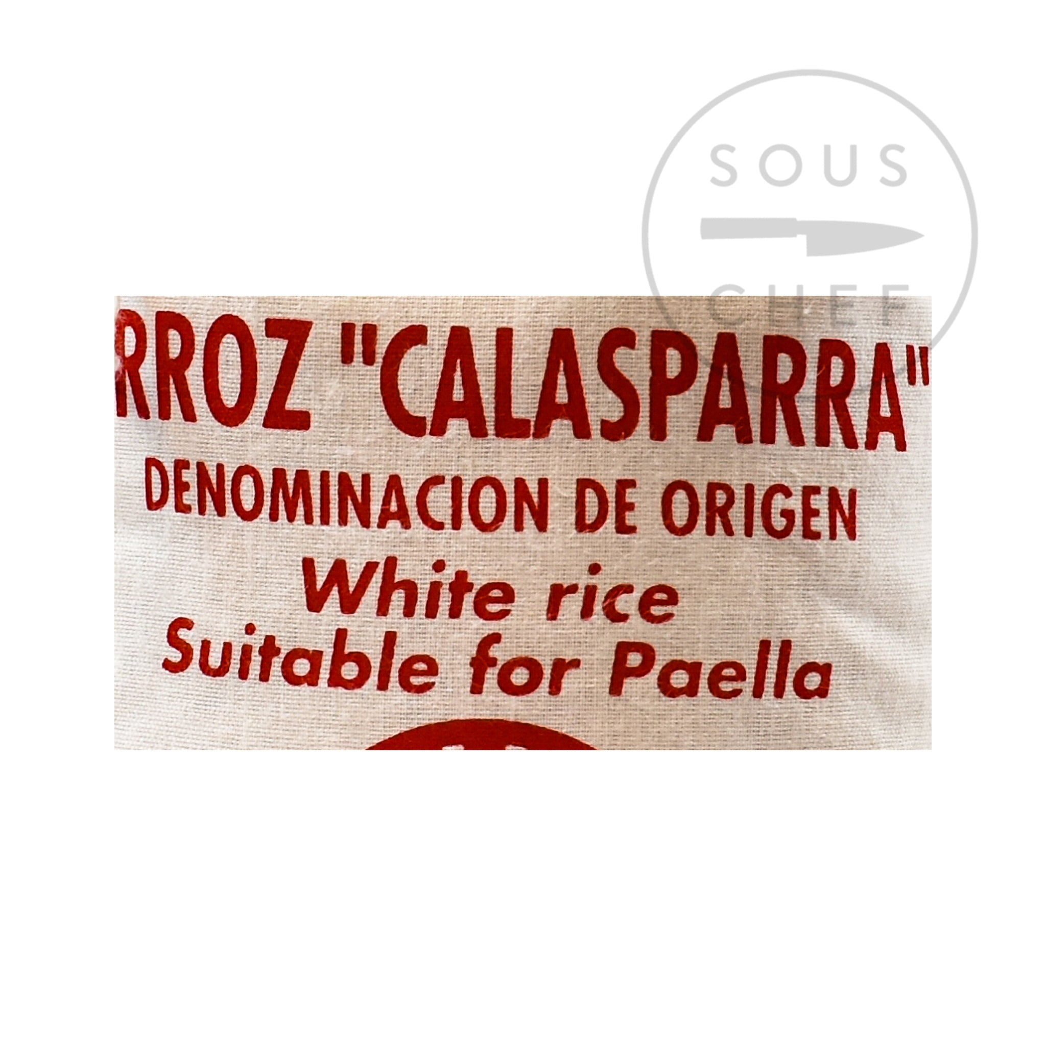 Cooperativa del Campo Calasparra Paella Rice 1kg Ingredients Pasta Rice & Noodles Rice Spanish Food Ingredients Information
