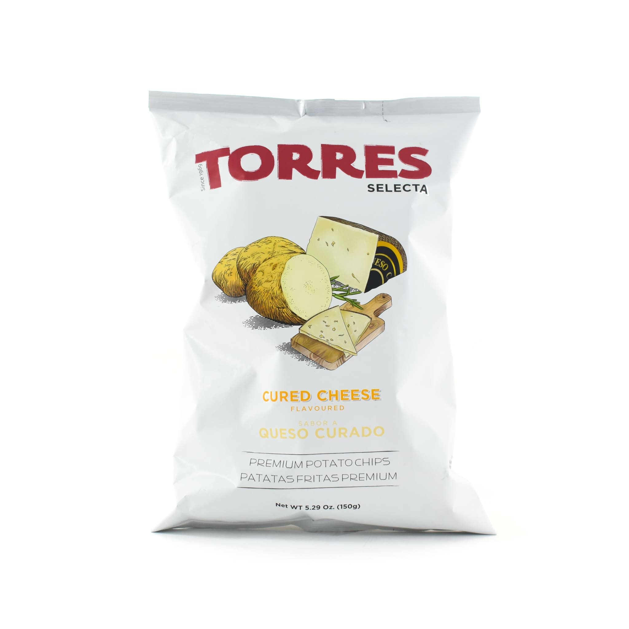 Torres Cured Cheese Crisps 150g