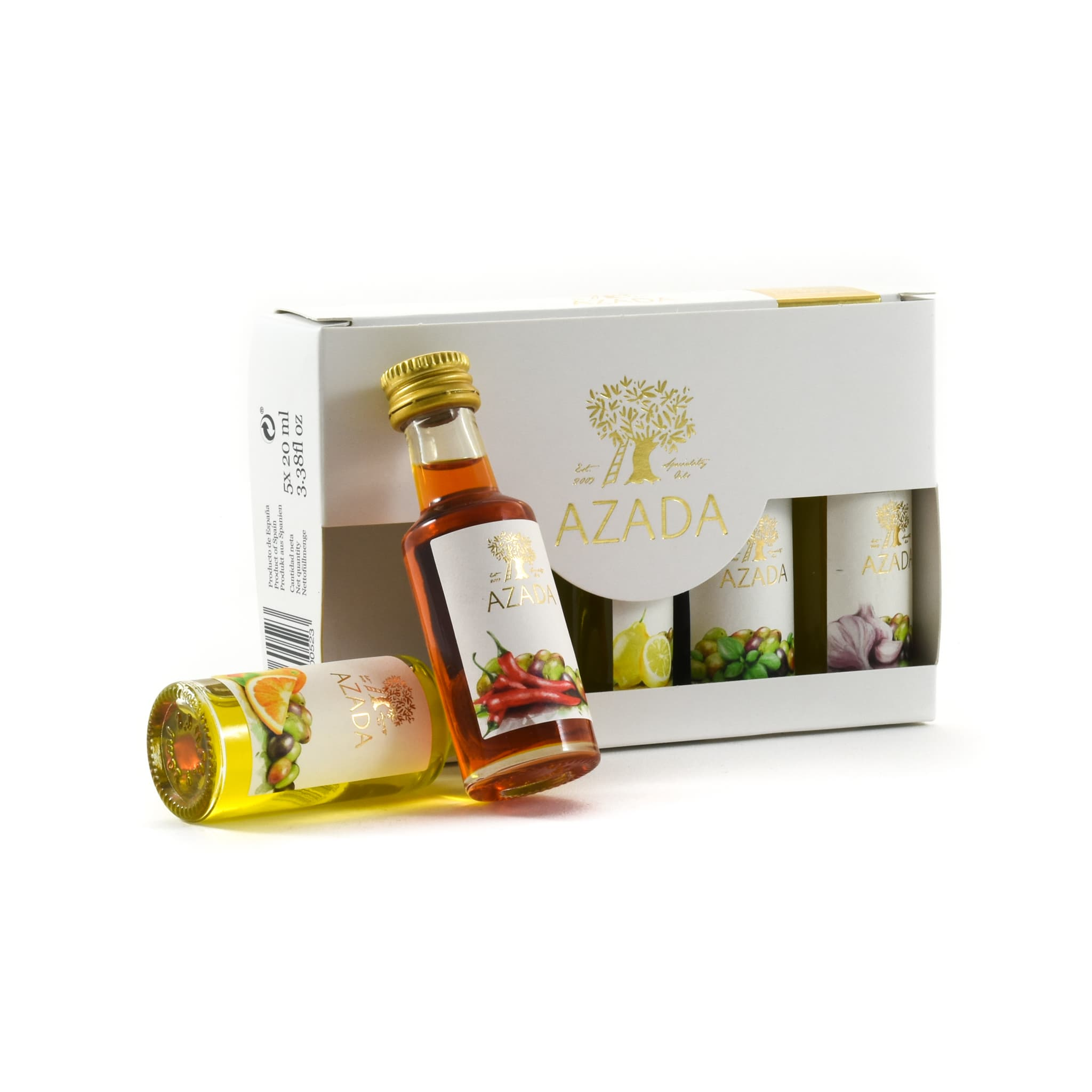 Spanish Flavoured Olive Oil Set 20ml x 5