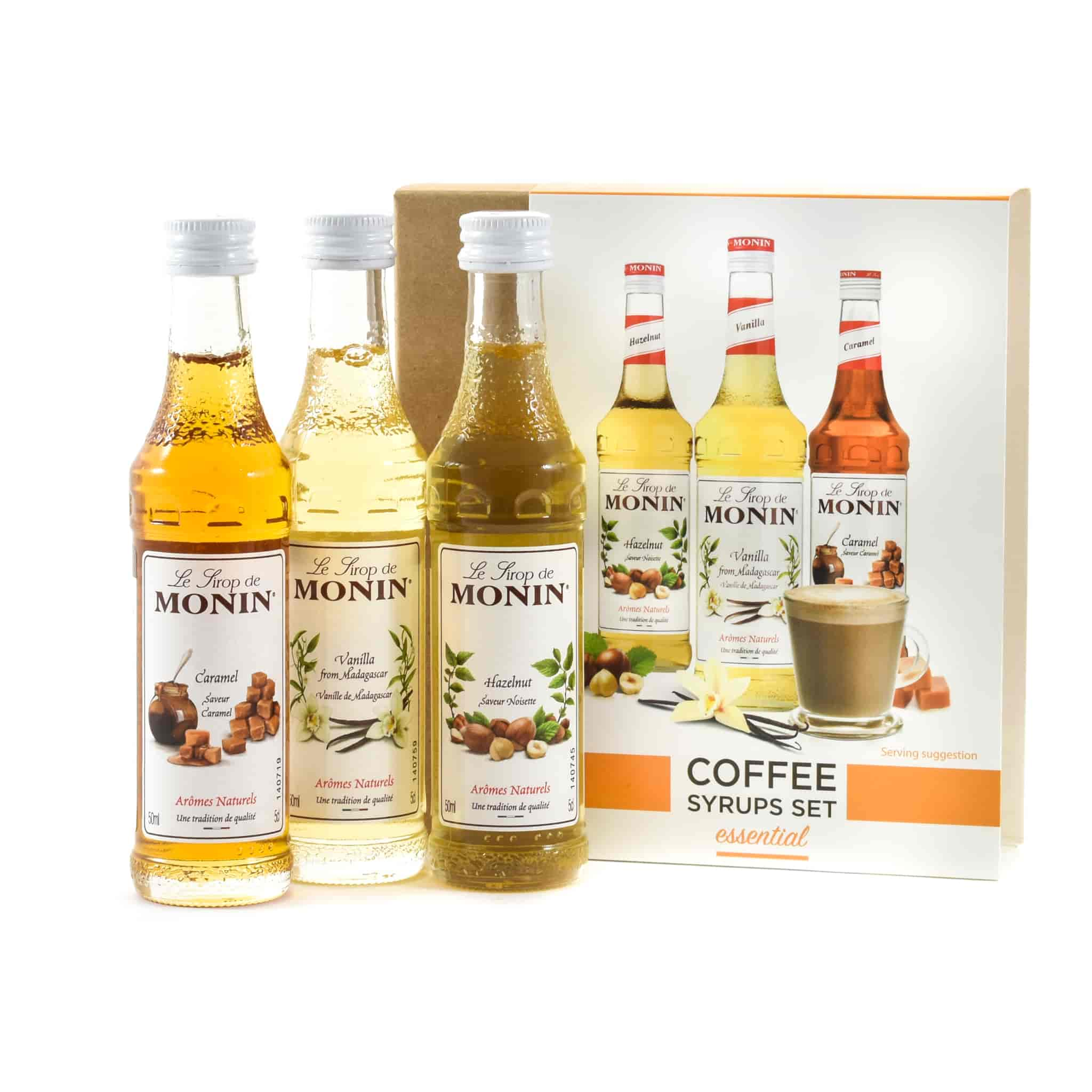 Monin Coffee Syrup Set