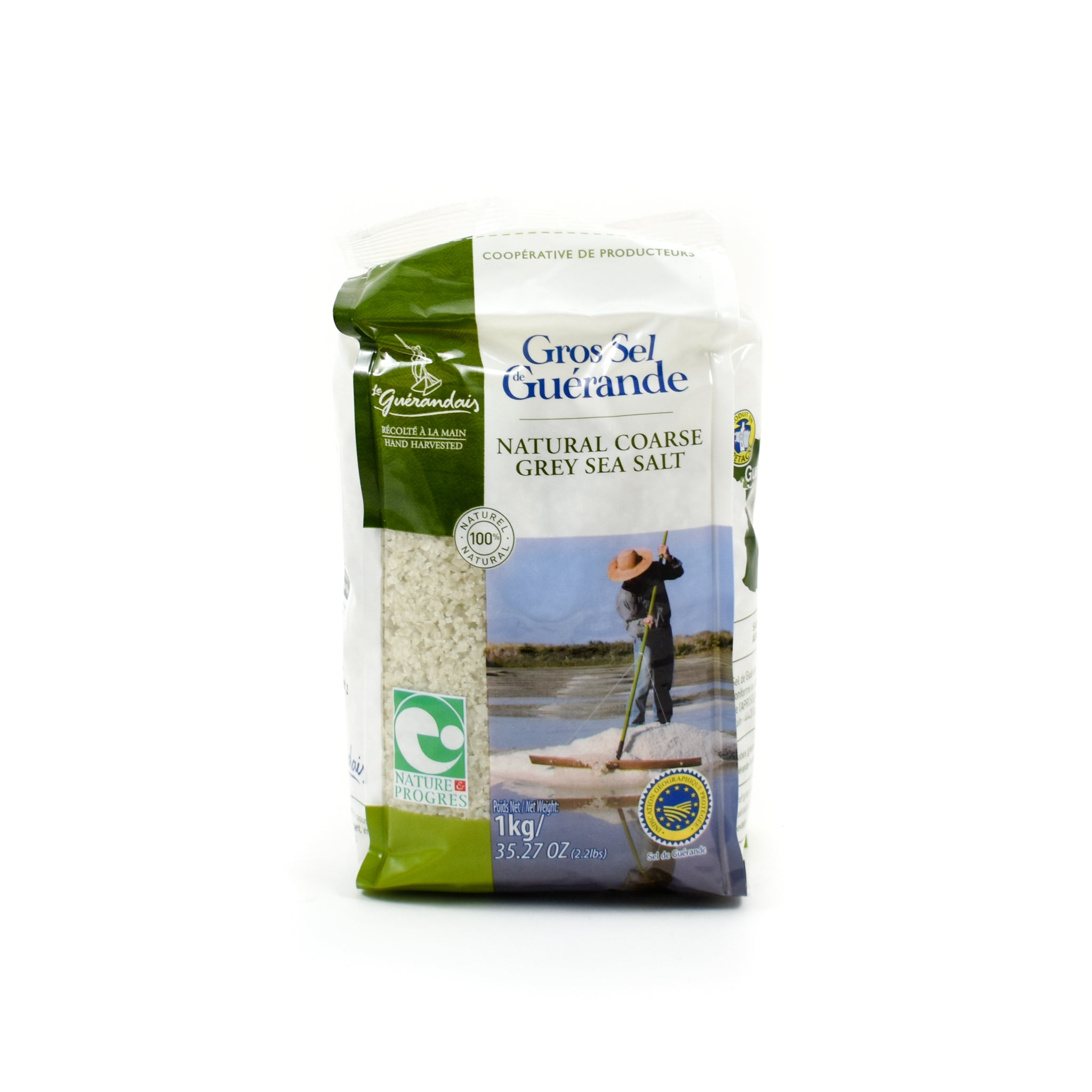 Le Guerandais Coarse Grey Sea Salt 1kg Ingredients Seasonings French Food