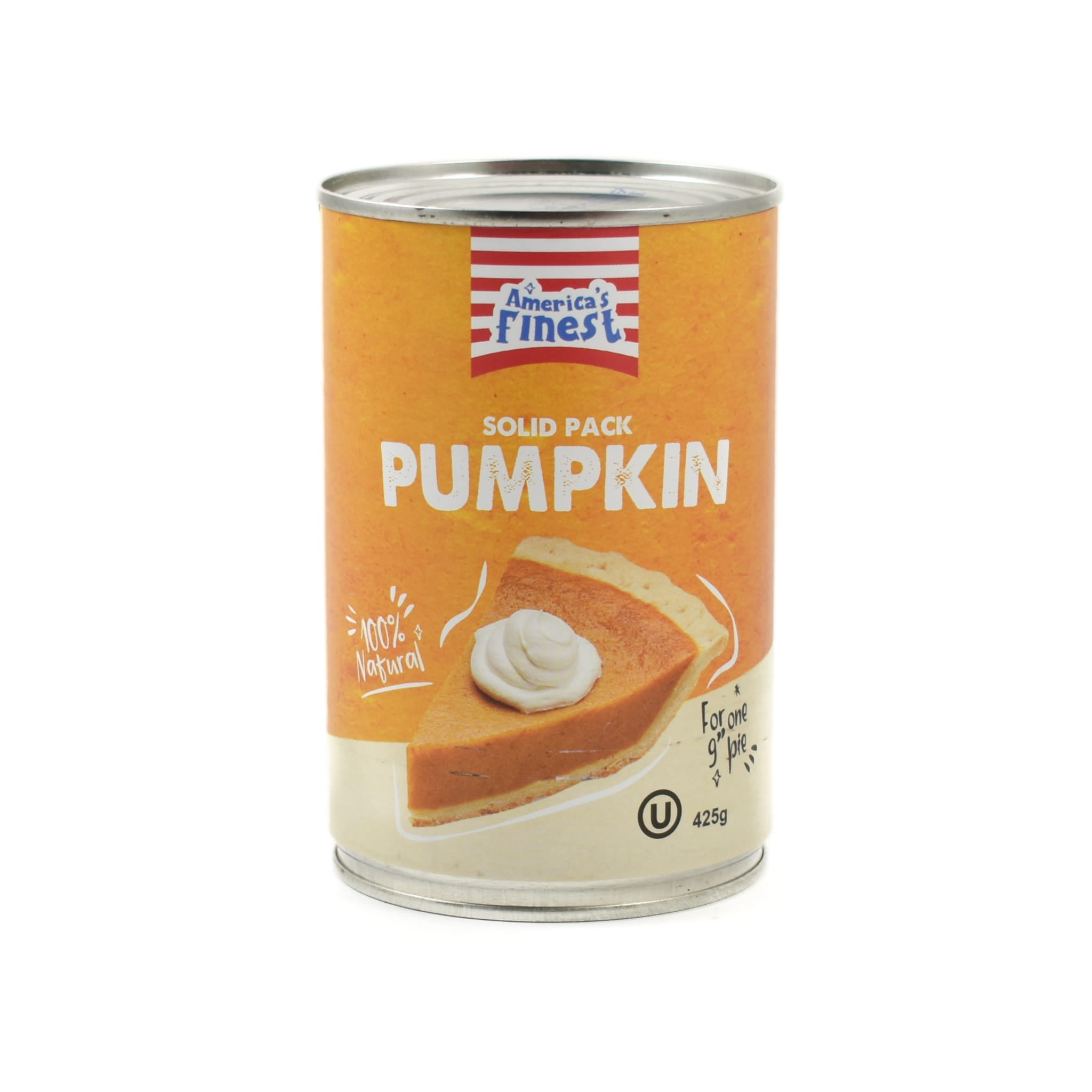 America's Finest Pumpkin Puree 425g