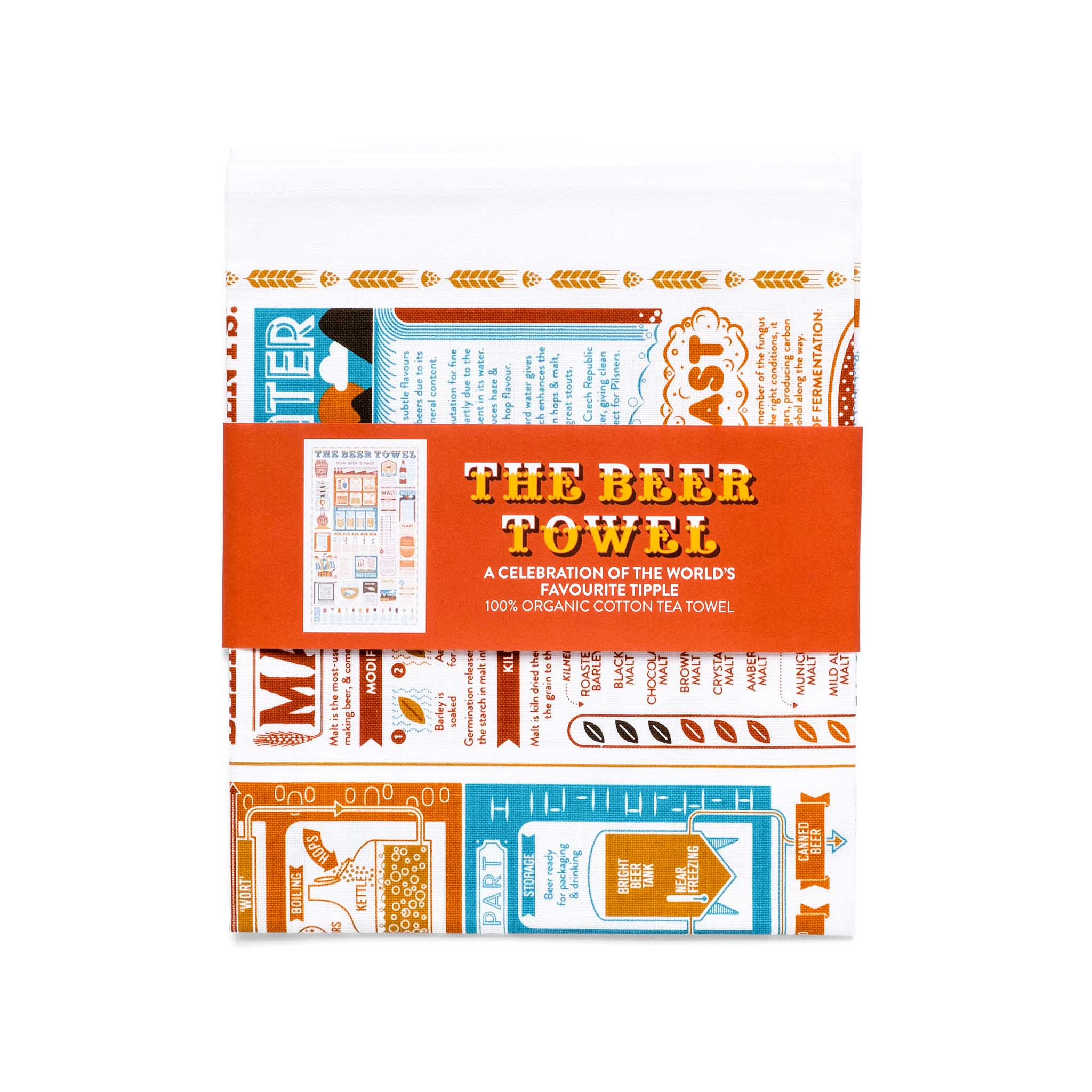 Stuart Gardiner Beer Guide Tea Towel