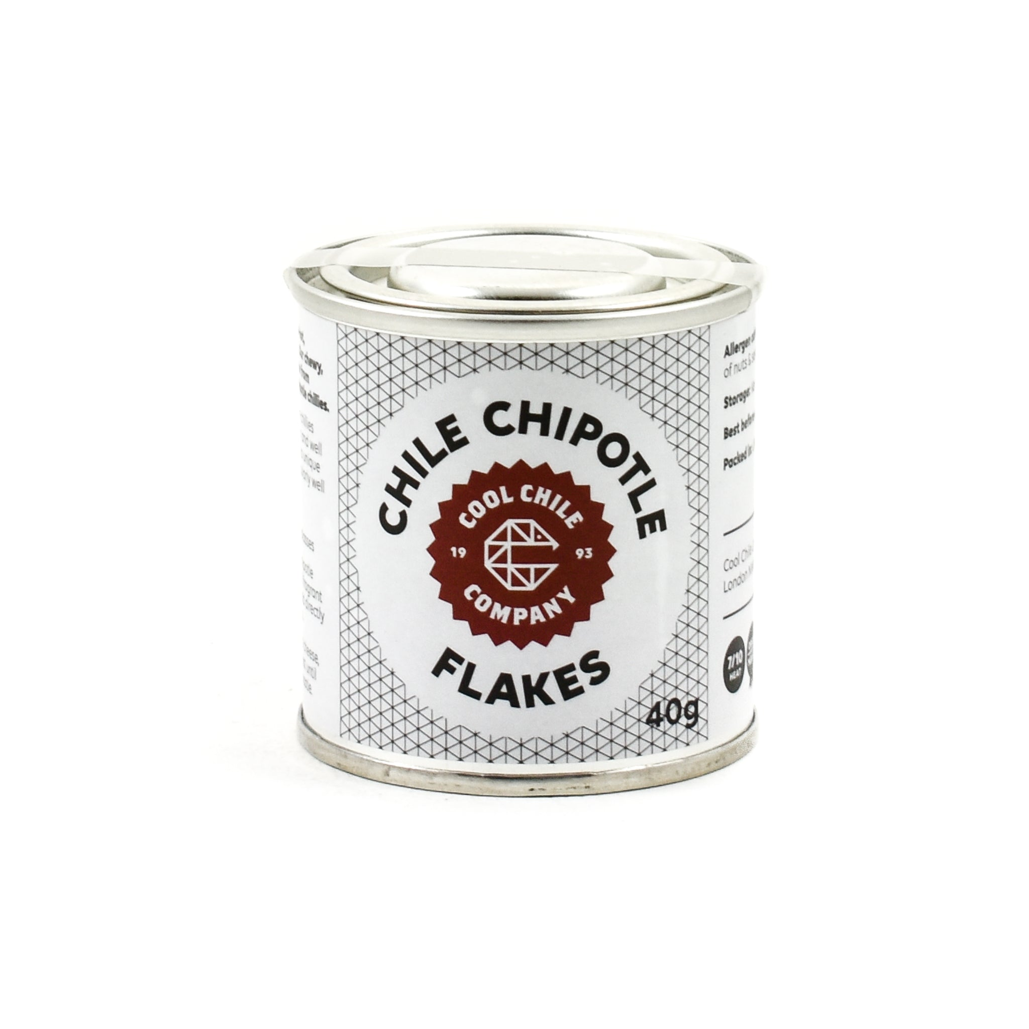 Cool Chile Co Chipotle Flakes 40g Ingredients Herbs & Spices Dried Chillies Mexican Food