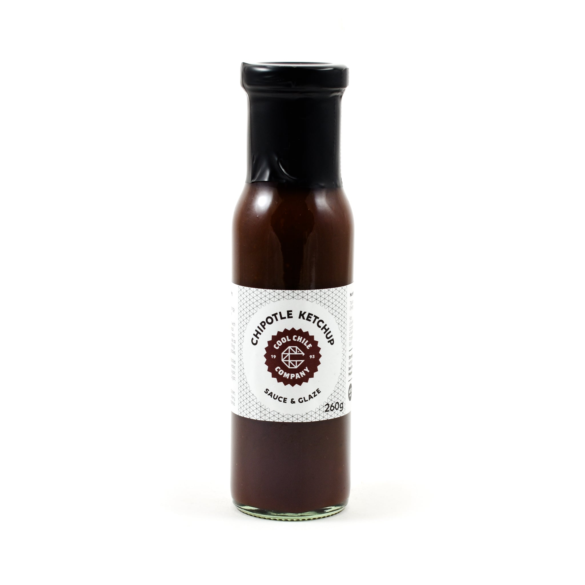 Cool Chile Co Chipotle Ketchup 260g Ingredients Sauces & Condiments American Sauces & Condiments
