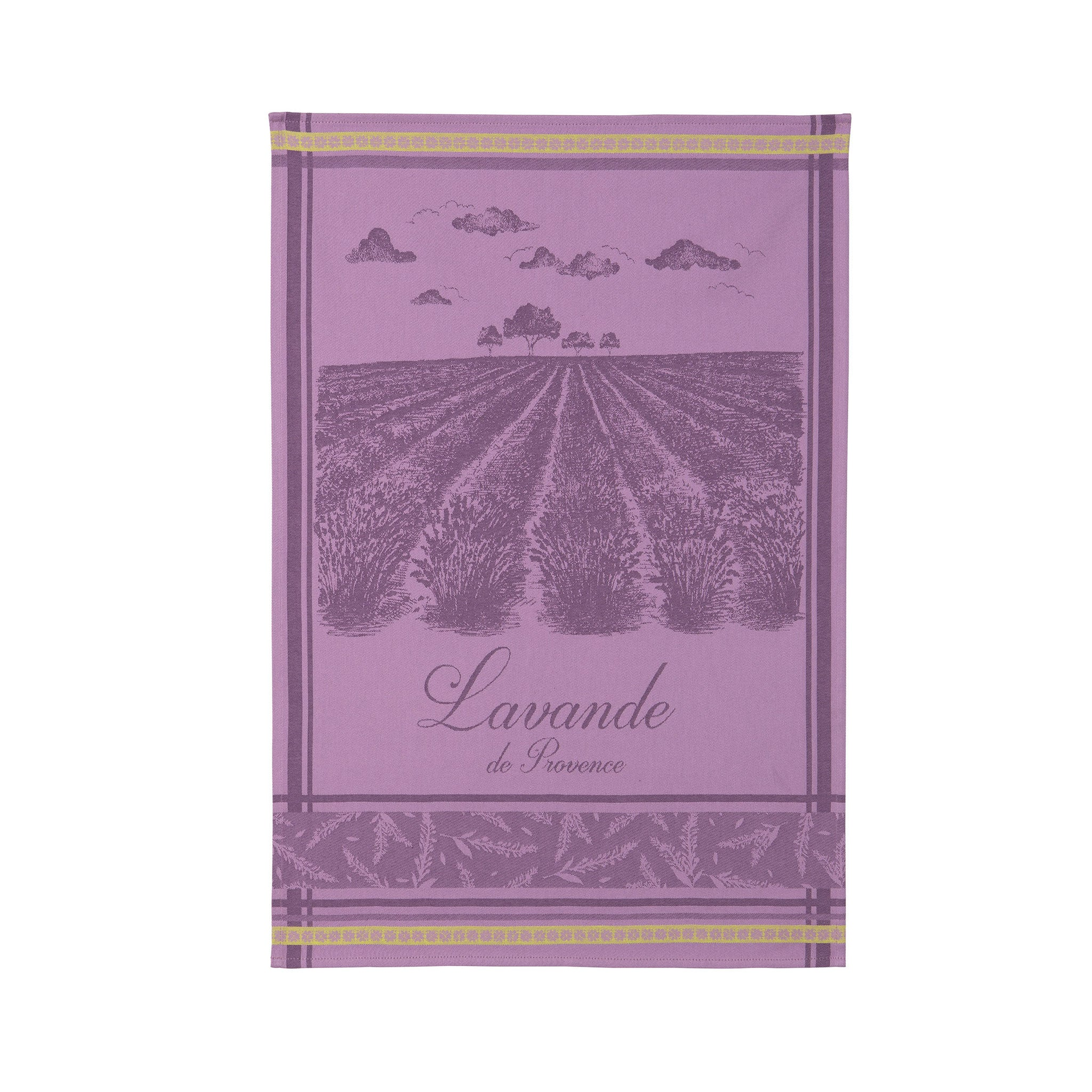 Lavender Fields Tea Towel
