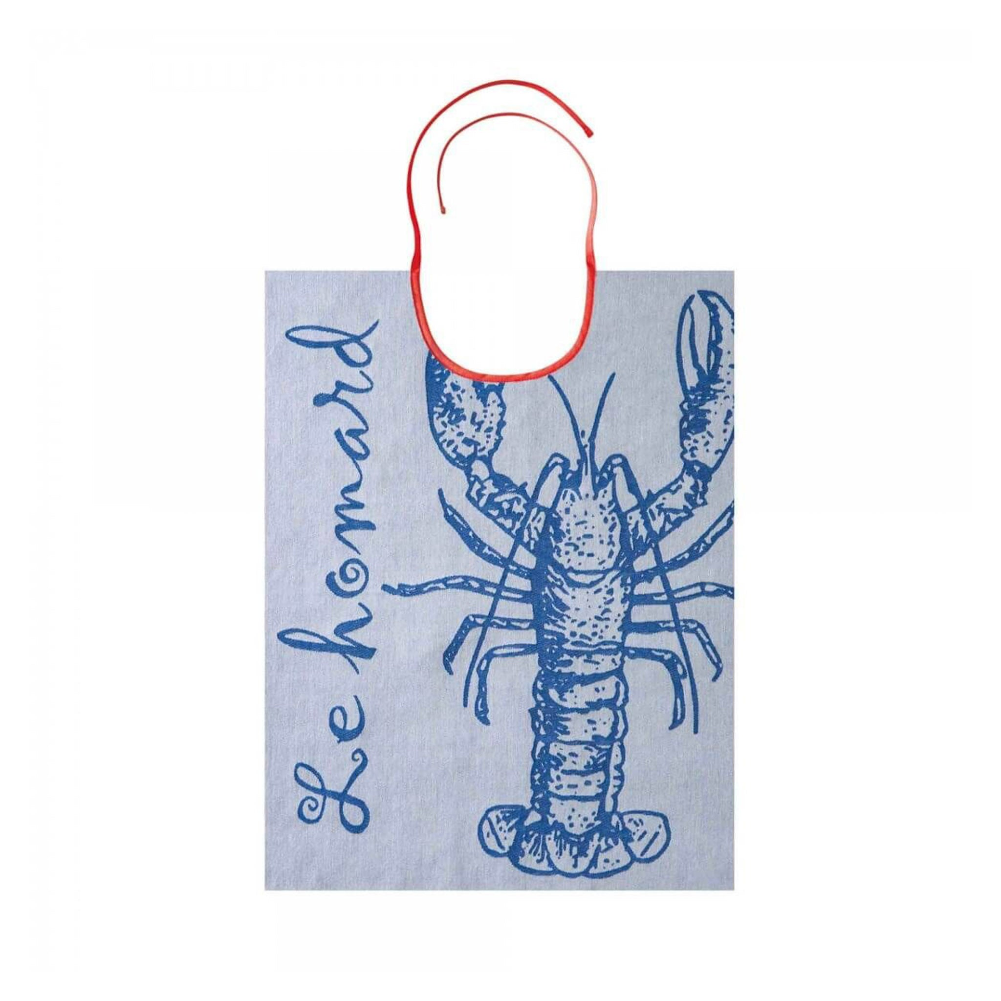 The Blue Lobster French Seafood Bib