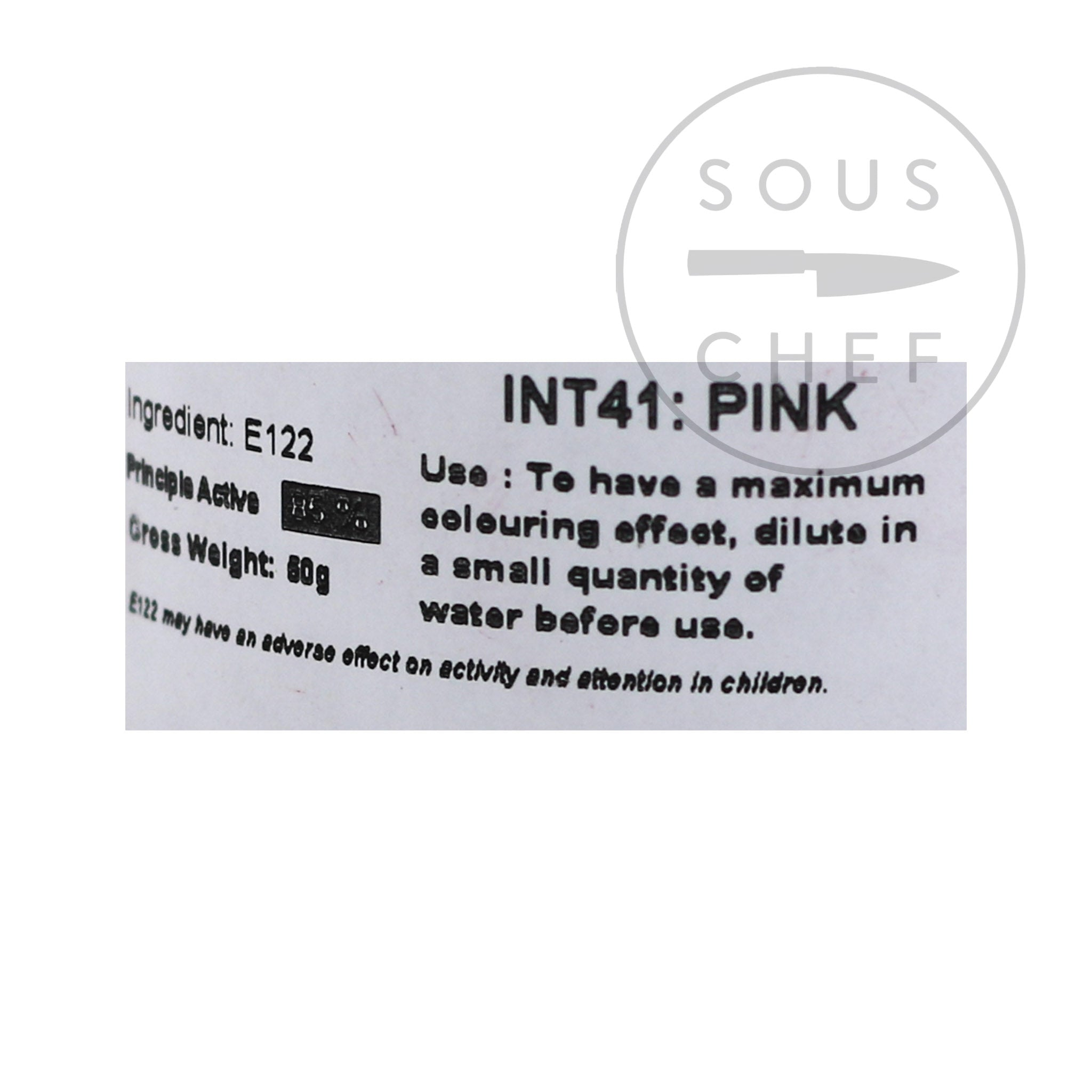 Intense Pink Food Colour 50g