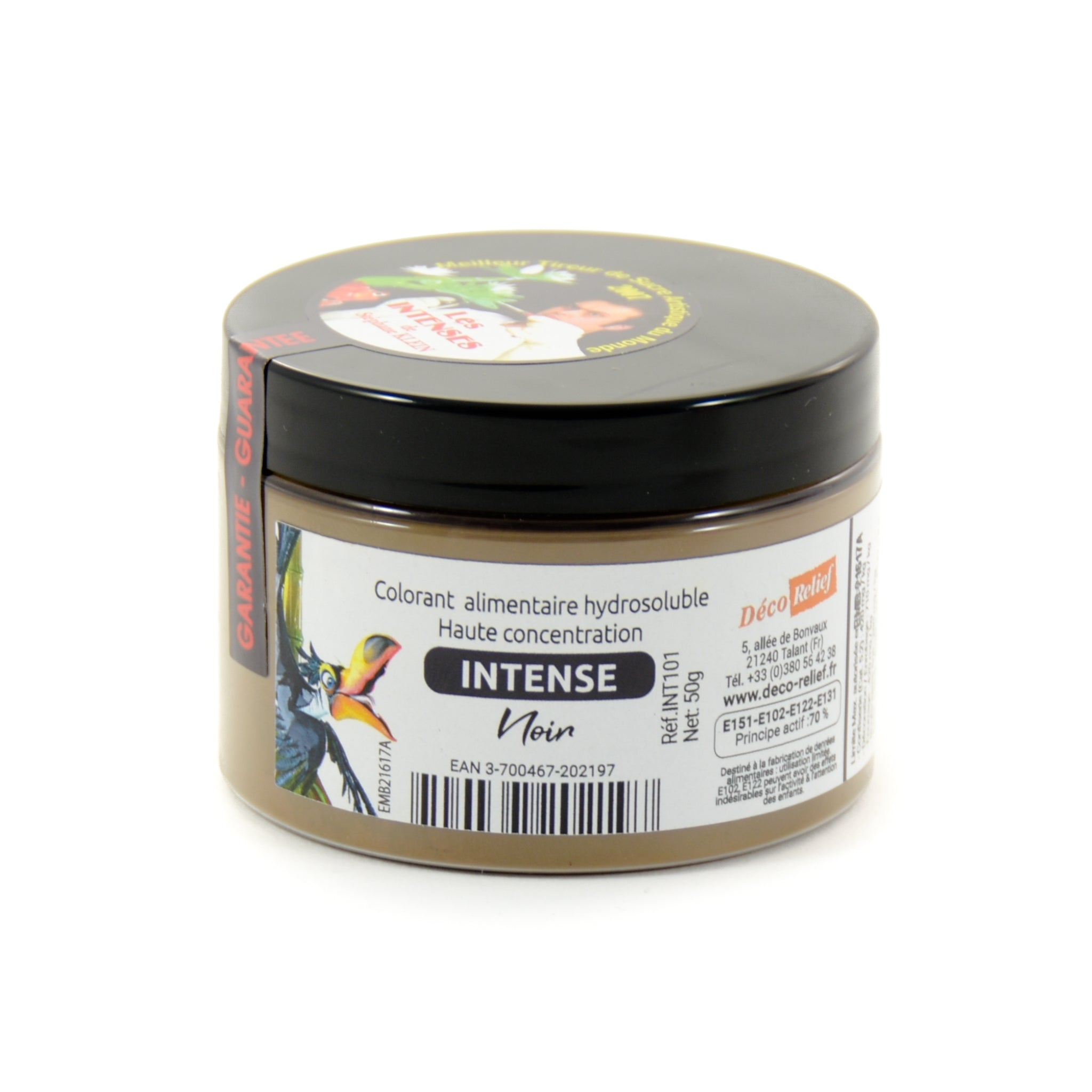 Intense Black Food Colour 50g