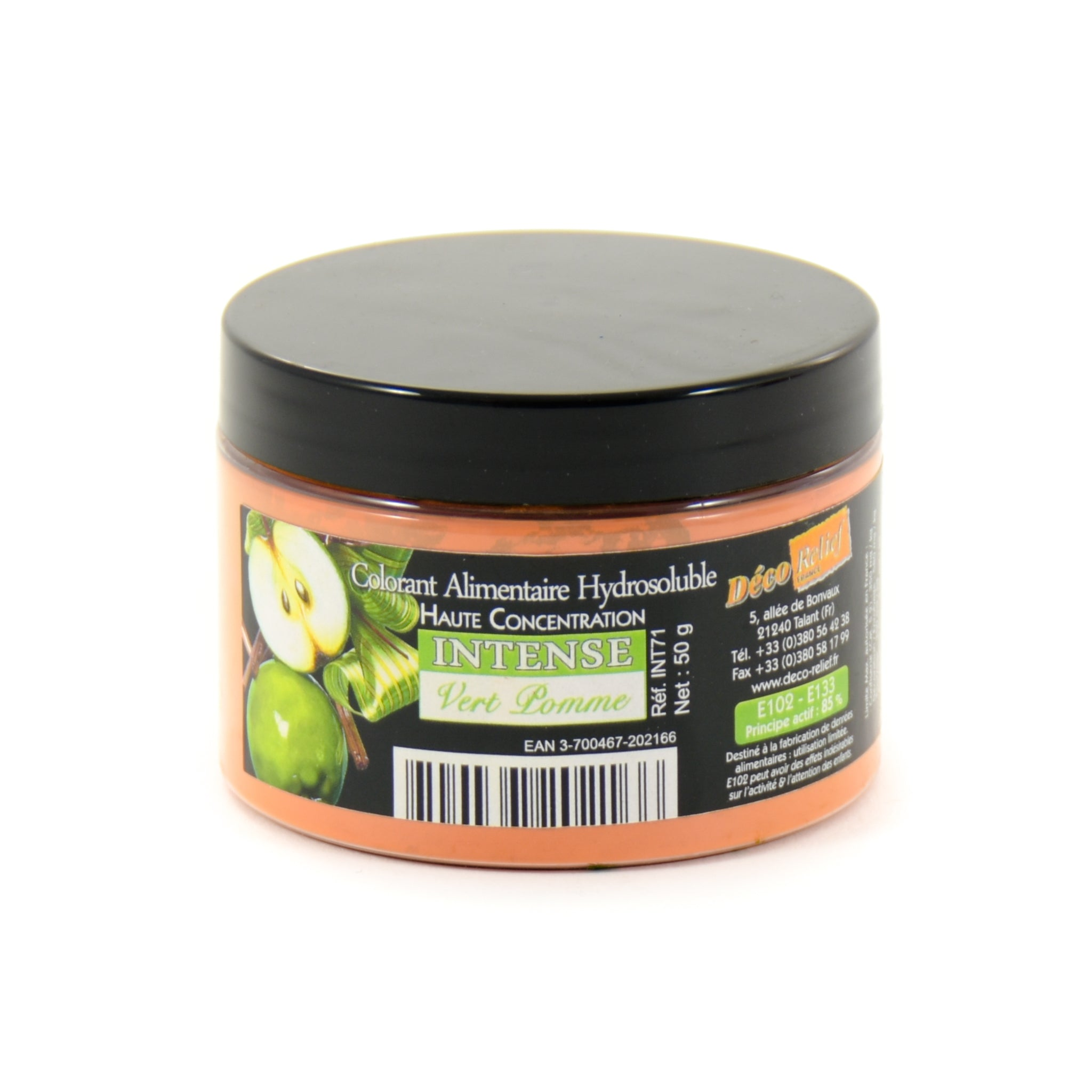 Intense Apple Green Food Colour 50g