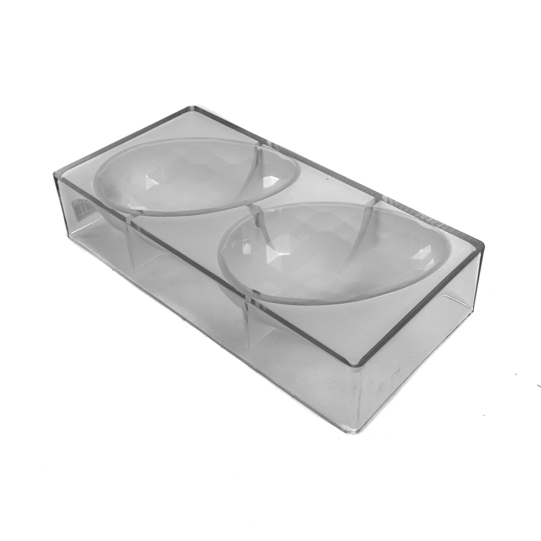 Polycarbonate Diamond Chocolate Easter Egg Mould Large