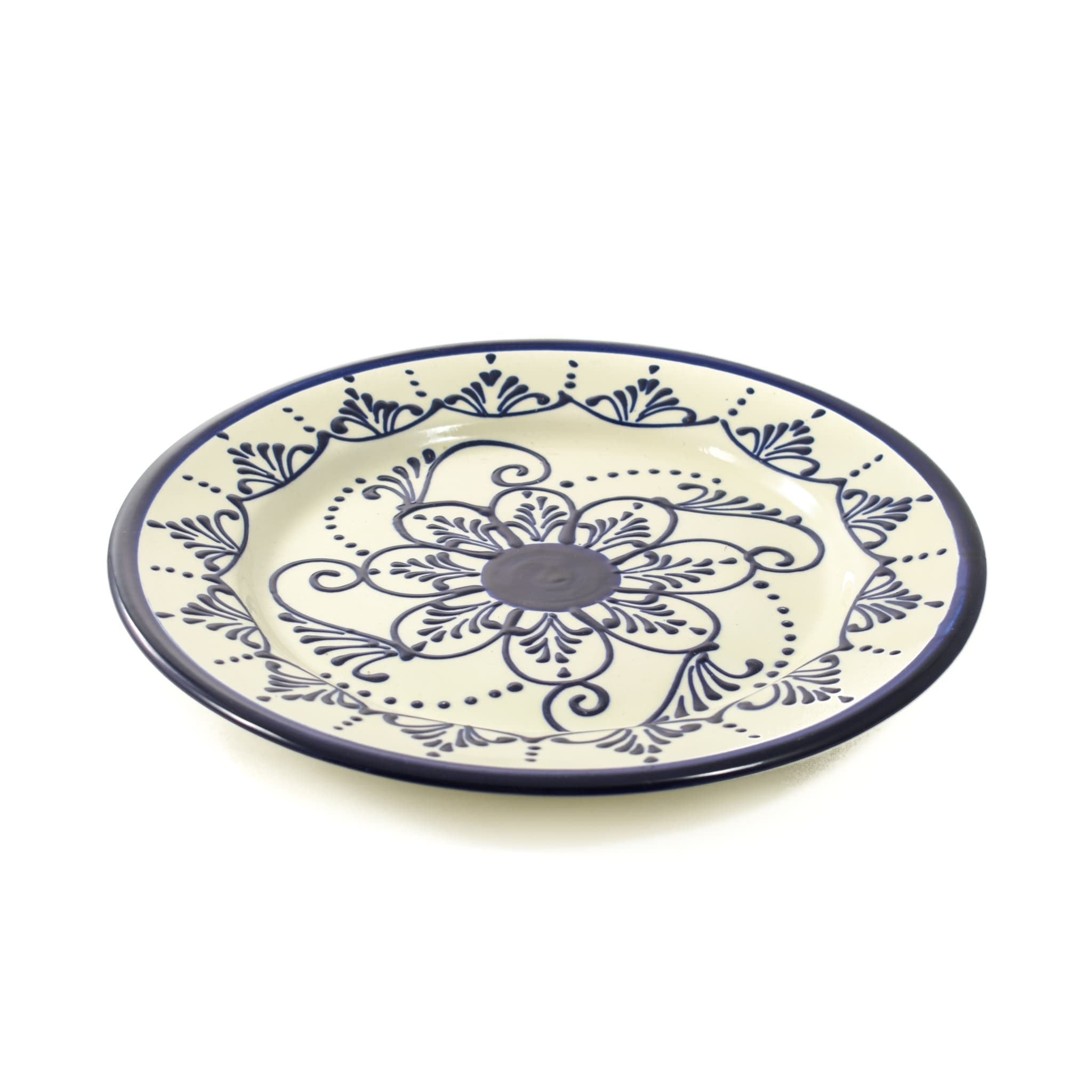 Sous Chef Andalucia Dinner Plate 26cm Painted Spanish Tableware