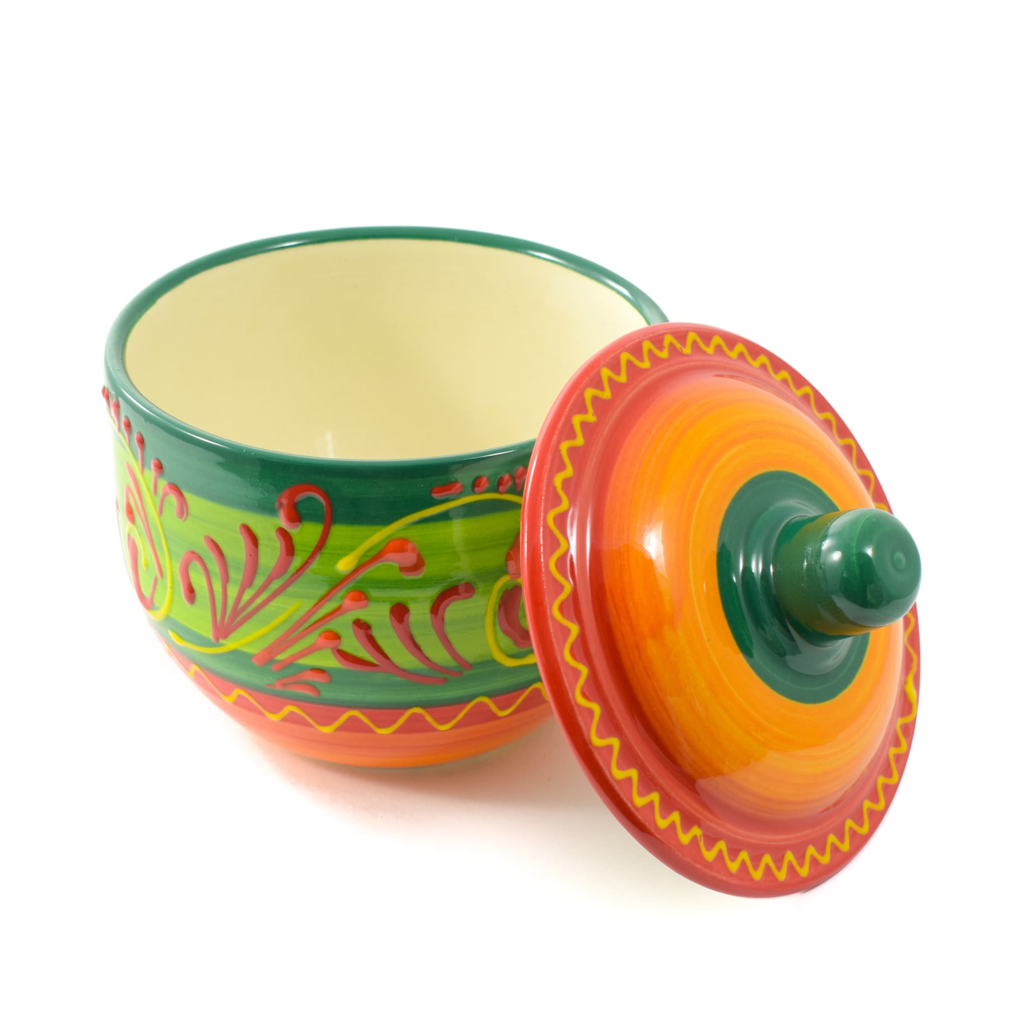 Sous Chef Jerez Salt Cellar Painted Spanish Tableware