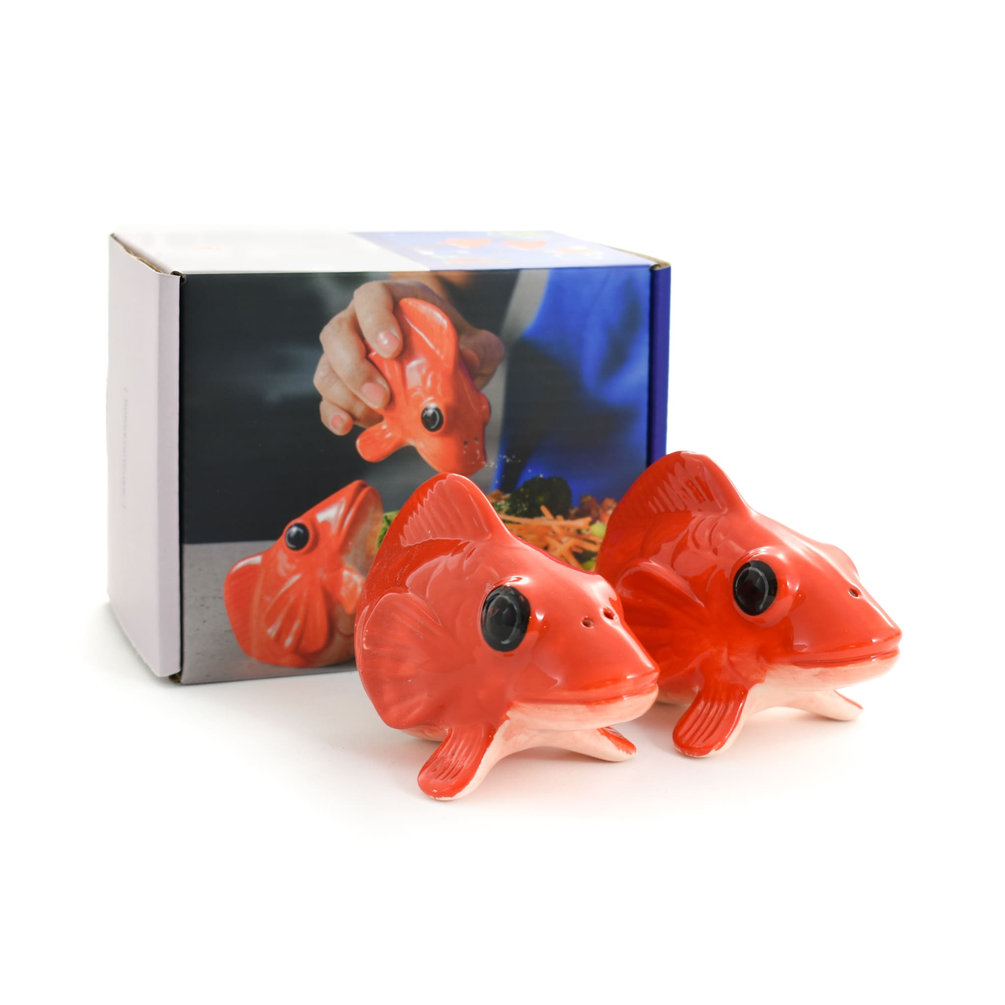 Koi Fish Salt & Pepper Shakers
