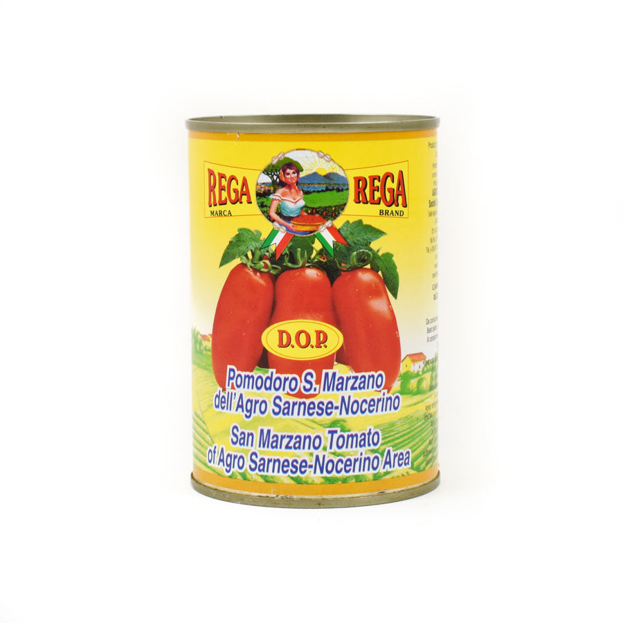 Rega DOP San Marzano Tomatoes 400g Ingredients Pickled & Preserved Vegetables Italian Food