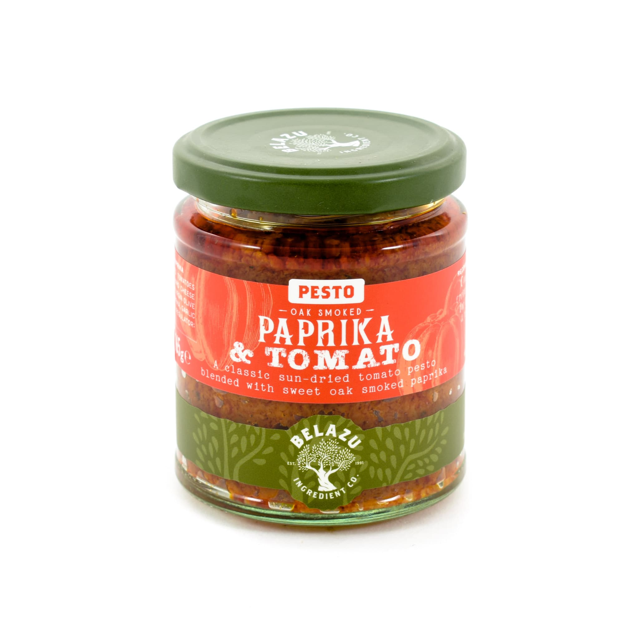 Belazu Oak-Smoked Paprika Pesto 165g